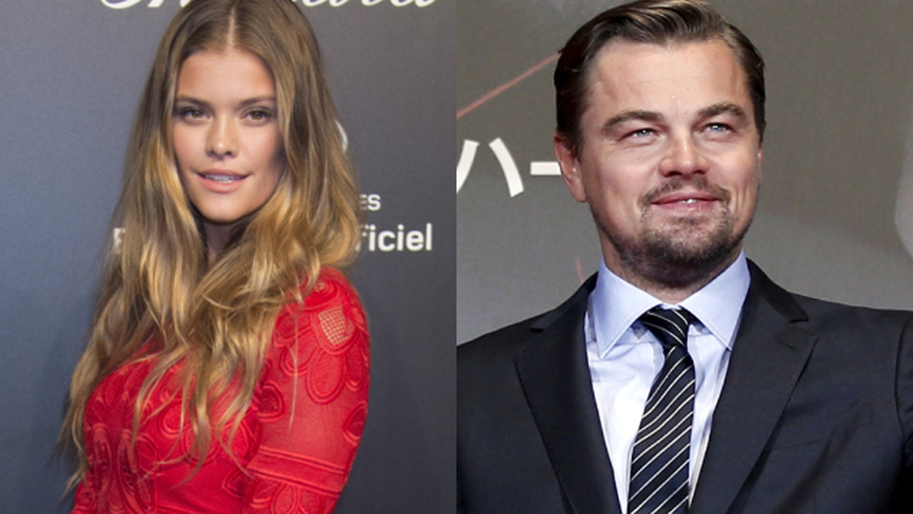 Nina Agdal, left, and Leonardo DiCaprio have reportedly been linked.