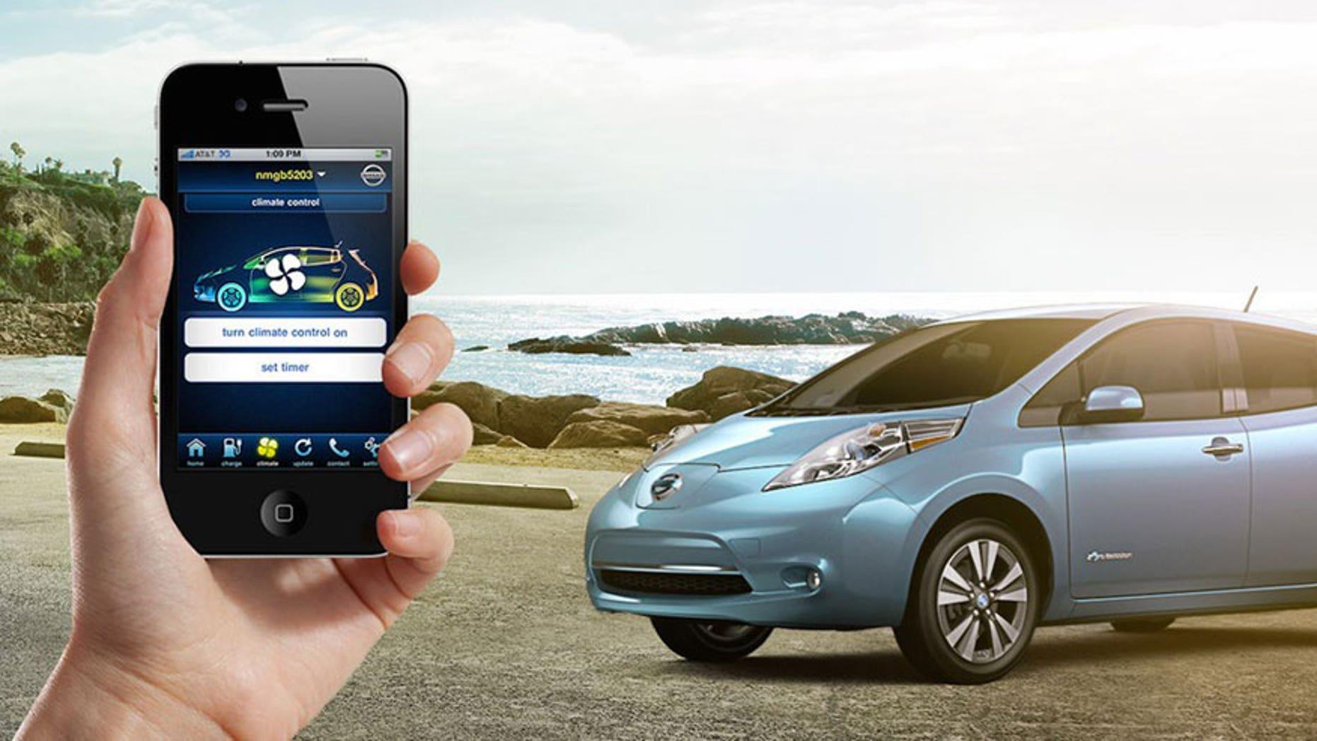 Nissan Connect EV