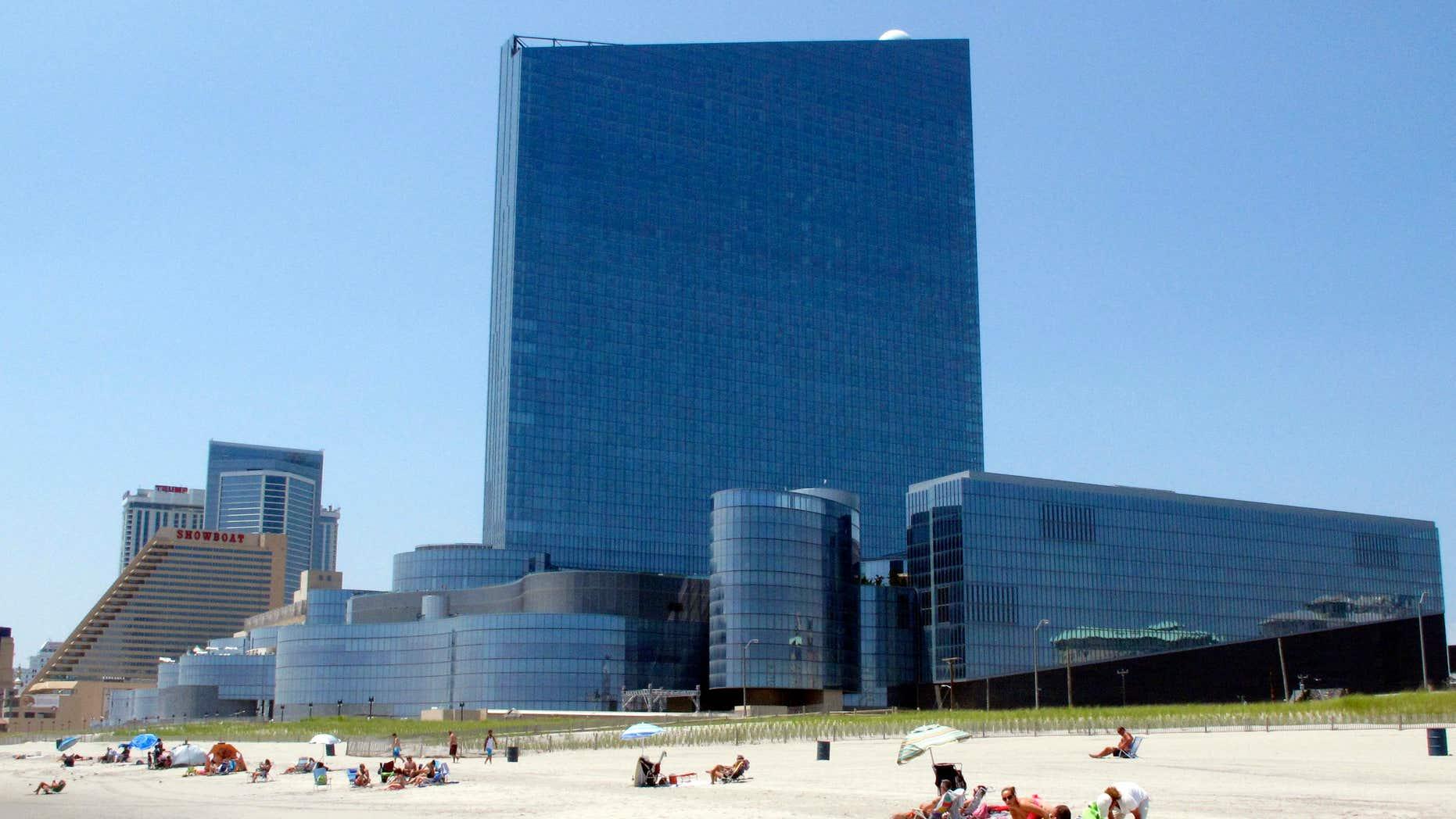 July 23, 2014: Revel casino hotel in Atlantic City, N.J.