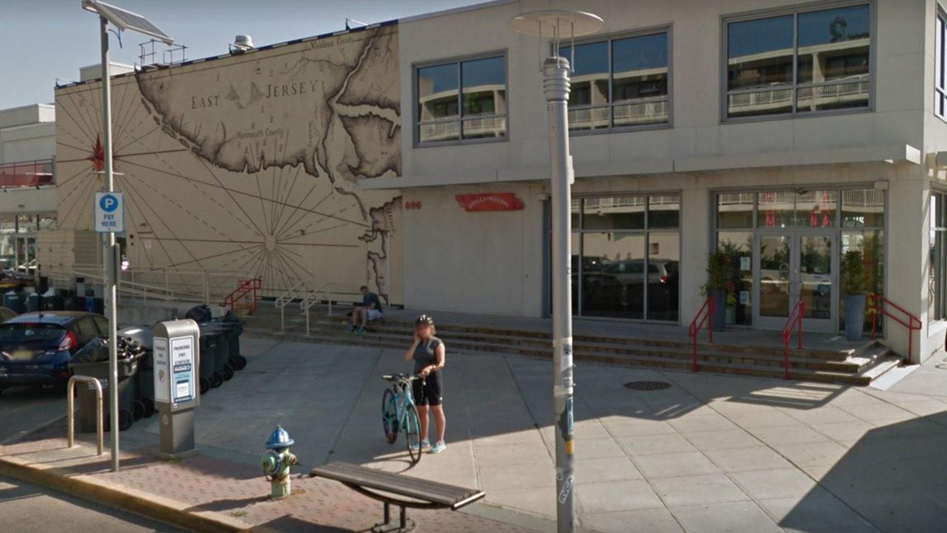 Outside Stella Marina Bar & Restaurant in Asbury Park, N.J.