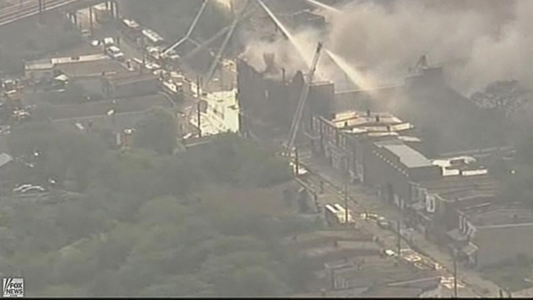 June 9: Fire crews in Camden are battling a 7-alarm blaze at the Old Reliable Tire Company on Chestnut and Orchard streets. The fire has spread to neighboring homes. Evacuations are underway.