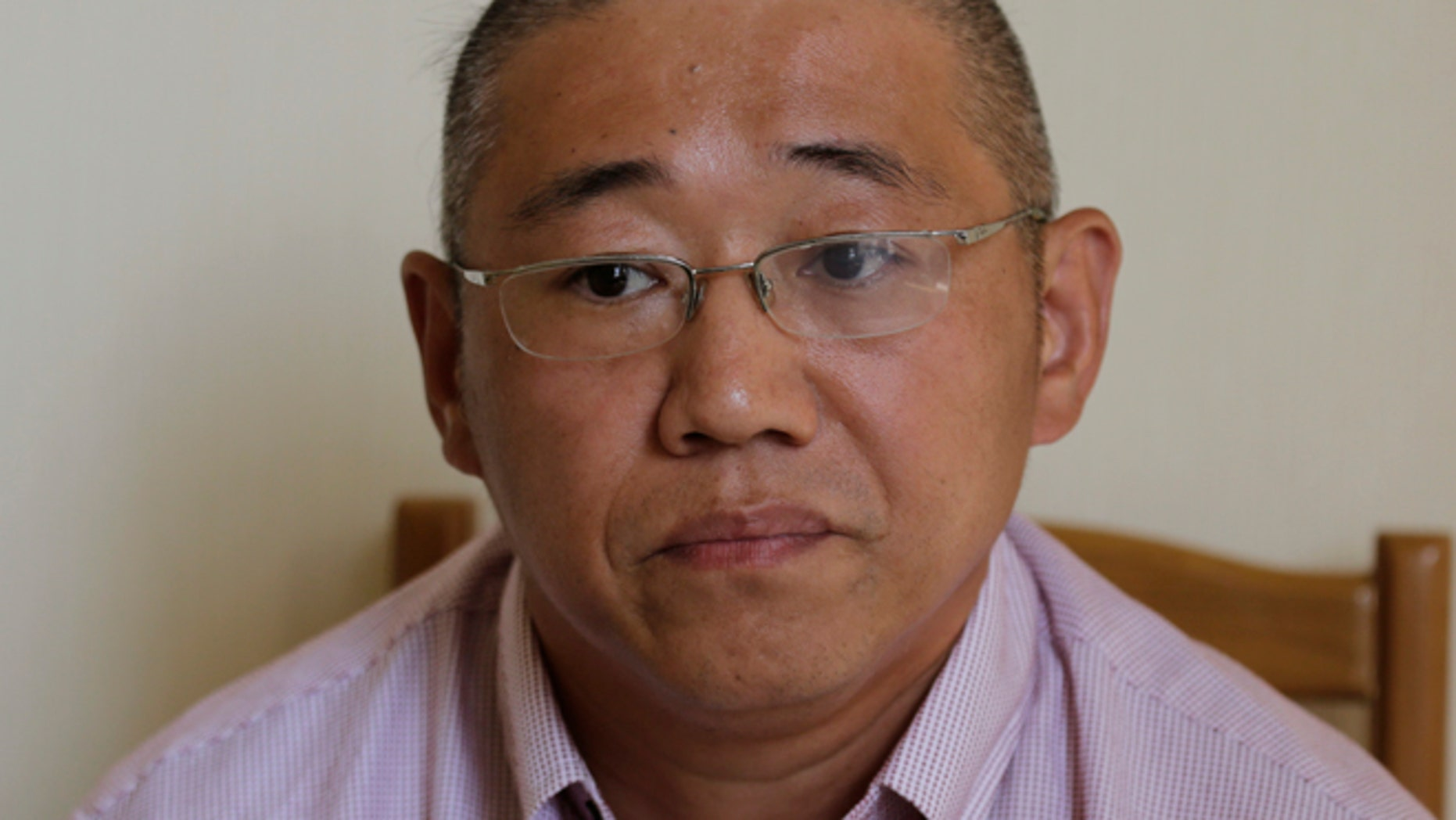 Sept. 1, 2014: Kenneth Bae, an American tour guide and missionary detained in North Korea, serving a 15-year sentence,  speaks to The Associated Press in Pyongyang, North Korea