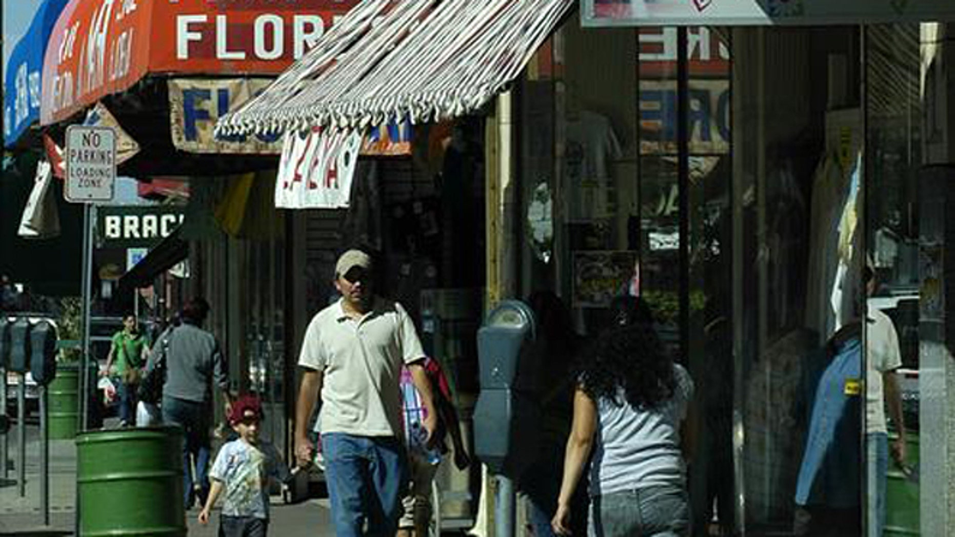 Shown here are businesses in Nogales, Ariz.