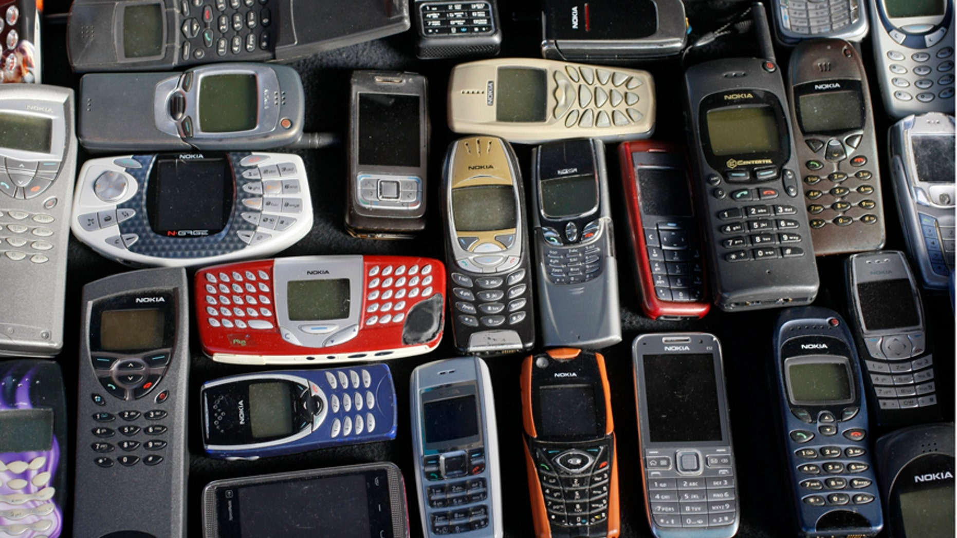 File photo: A collection of mobile phones made by Nokia is pictured in this photo illustration taken in Warsaw May 8, 2012.