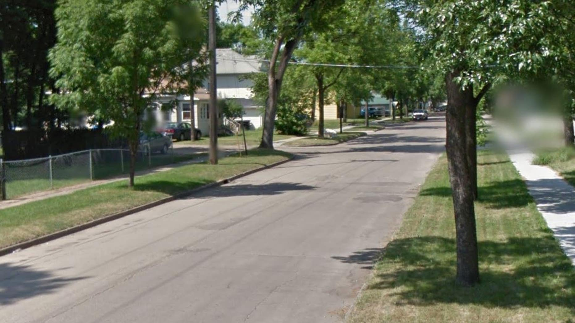 Four people were found dead in a home on this street in Grand Forks, N.D.