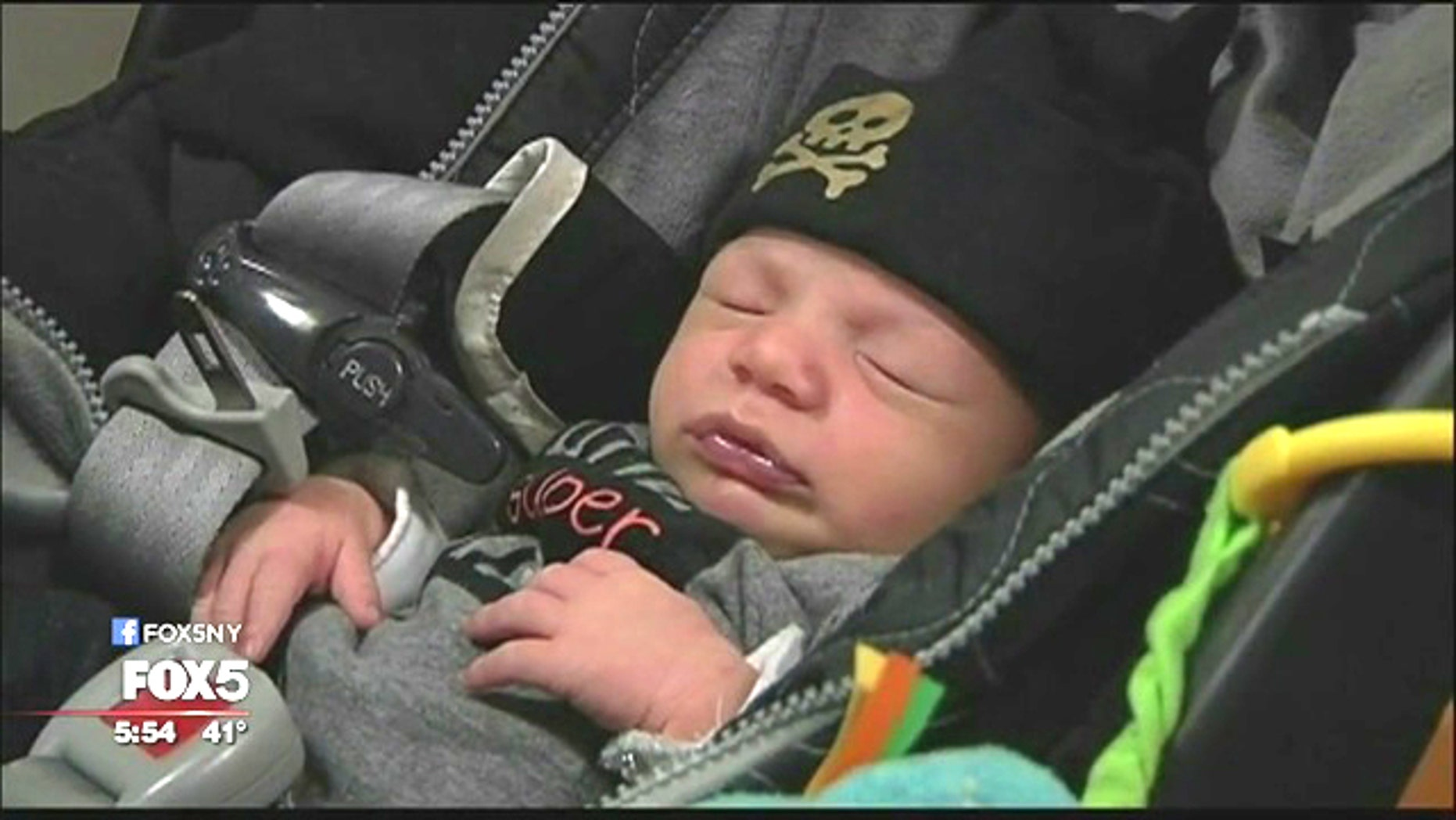 Dylan Tepfer was delivered by the same doctor who delivered his parents.