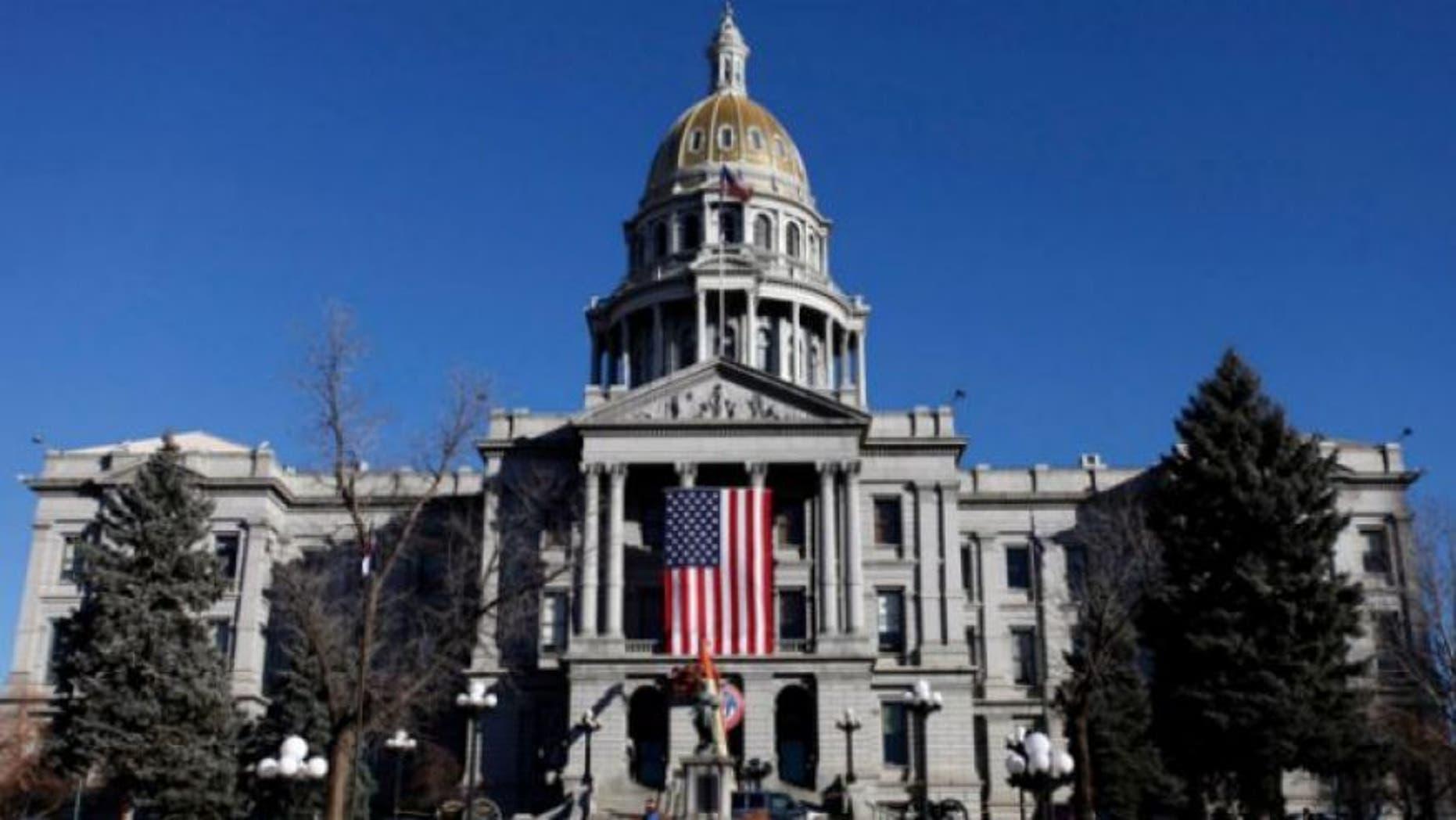 The Colorado State Capitol in Denver.