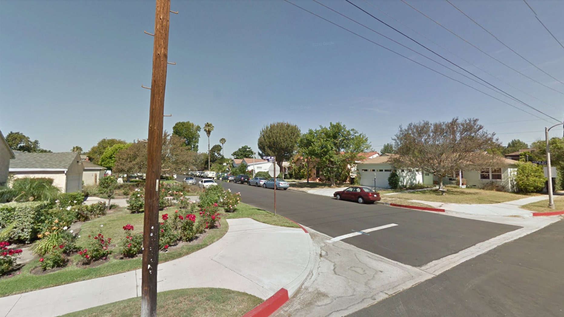 Several people were injured in a shooting at a house party on West Tiara Street in North Hollywood, Calif. on Sunday.