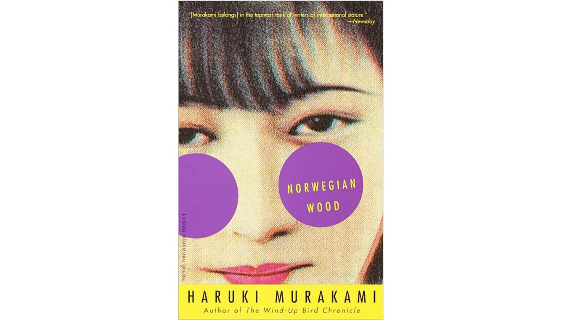 Norwegian Wood was one of the books
