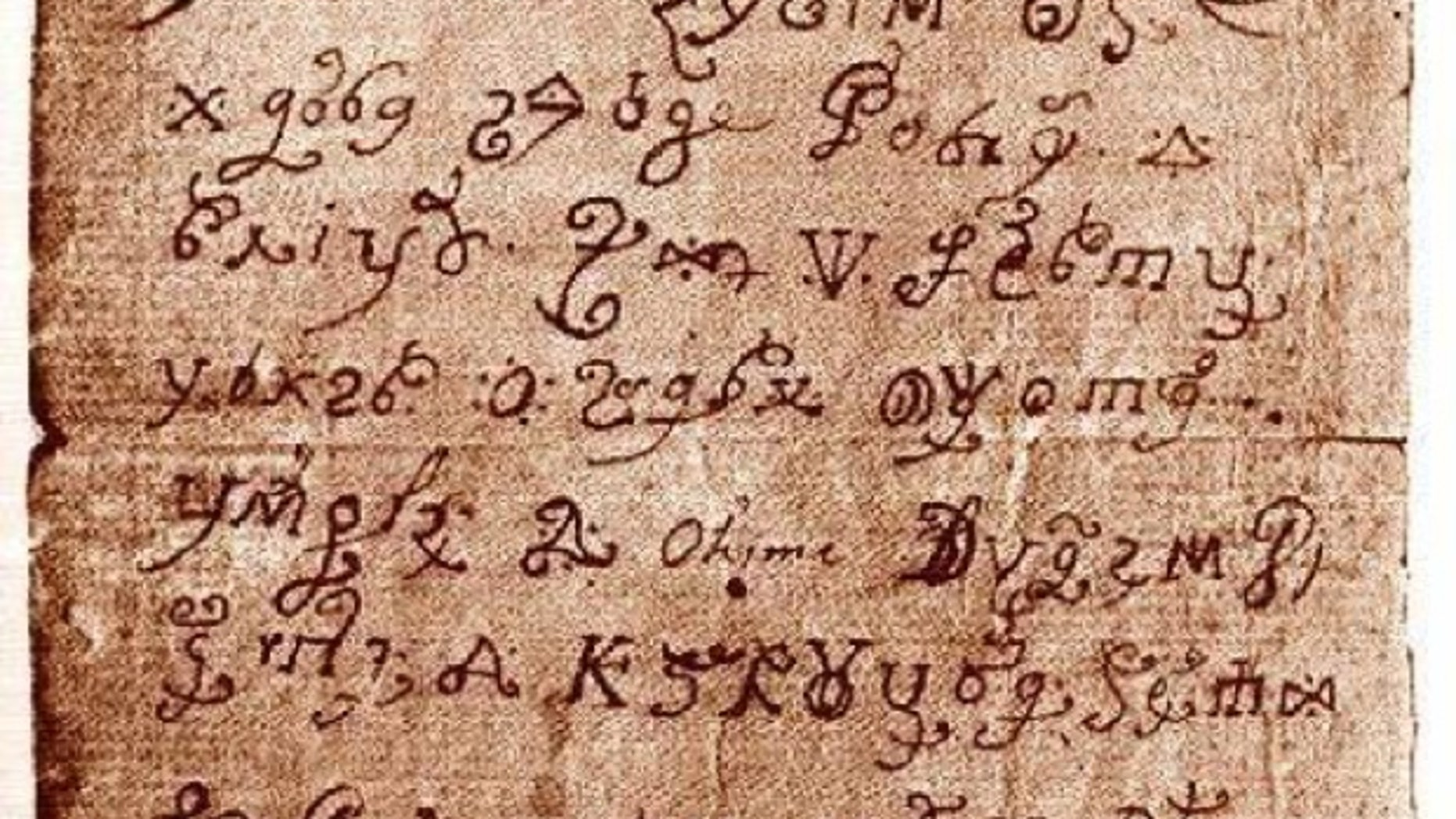 A letter supposedly written by a nun possessed by Satan has been deciphered.