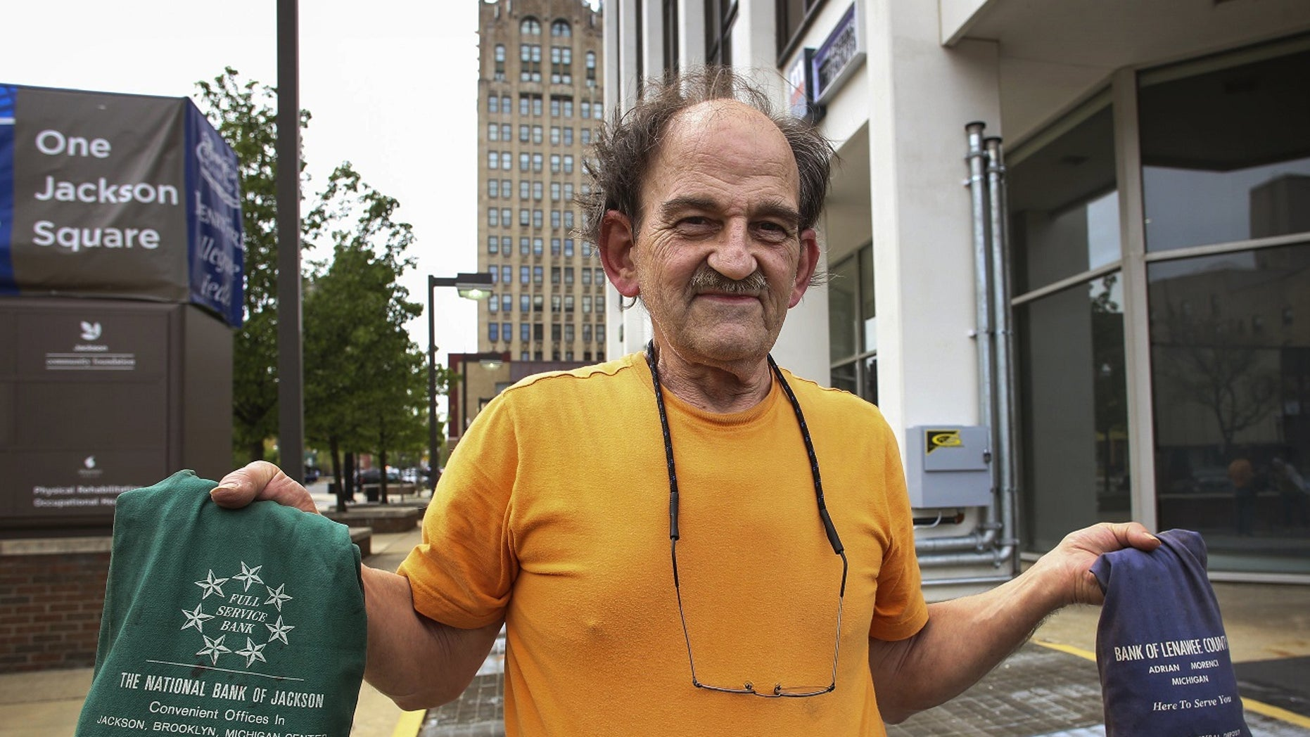 Michigan citizen Brian McGonegal attempted to pay a $270 fine in pennies to Jackson City Hall but was rejected.