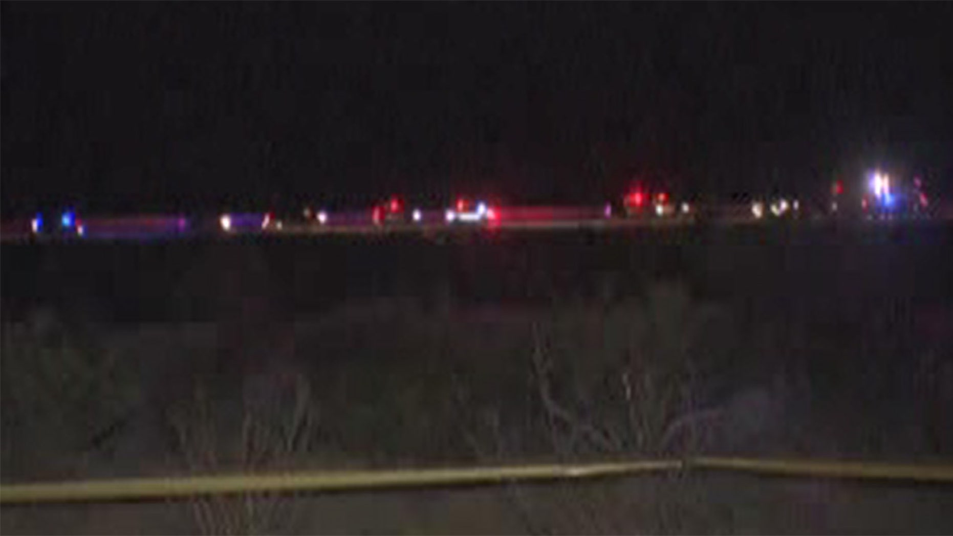Authorities said they've confirmed one fatality in a small plane crash south of Las Vegas.