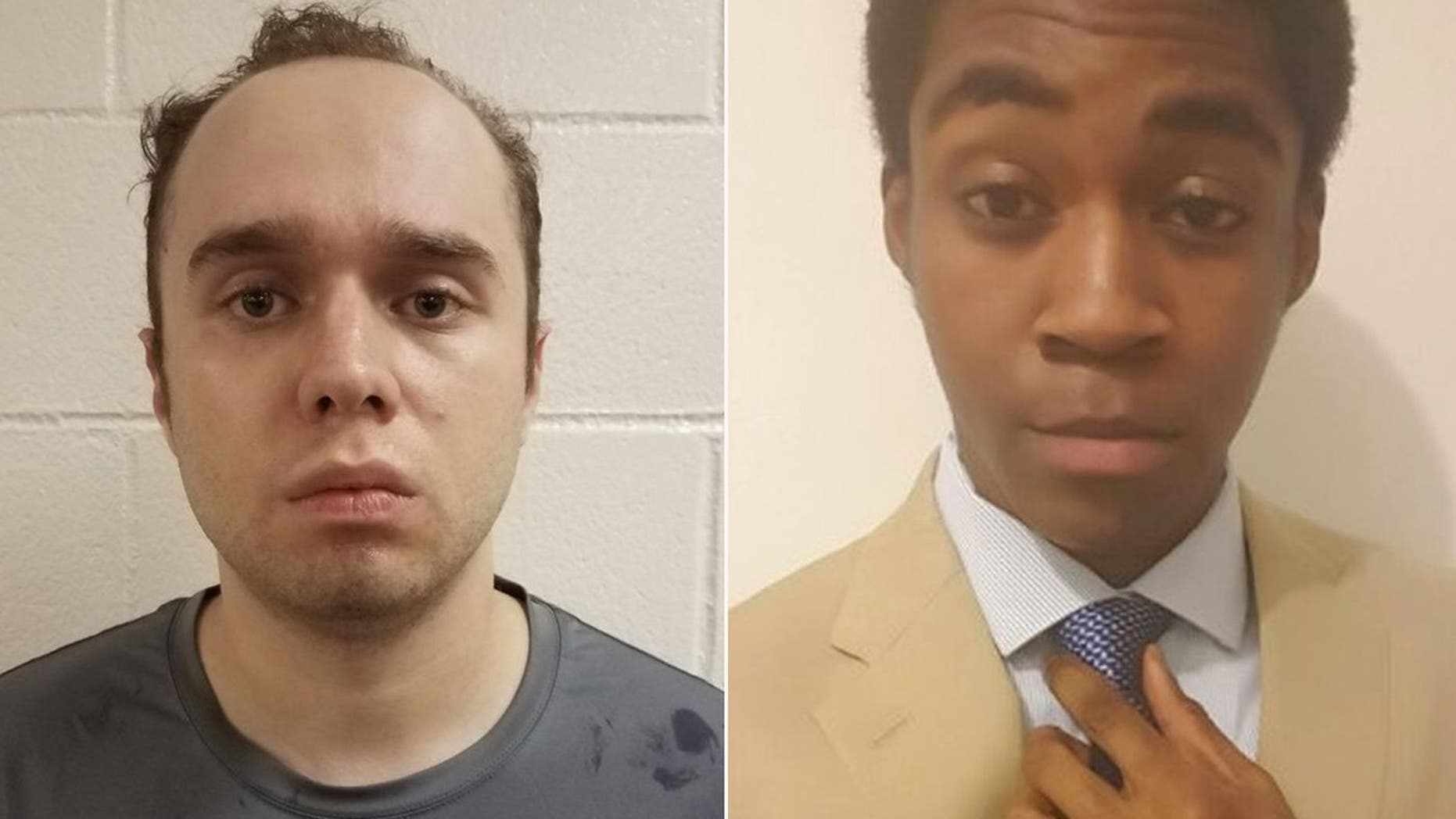 Daniel Beckwitt, 27, left, has been charged with the second-degree murder of Asia Khafra, right, whom he hired to help dig an undergound tunnel at his Bethesda tunnel.