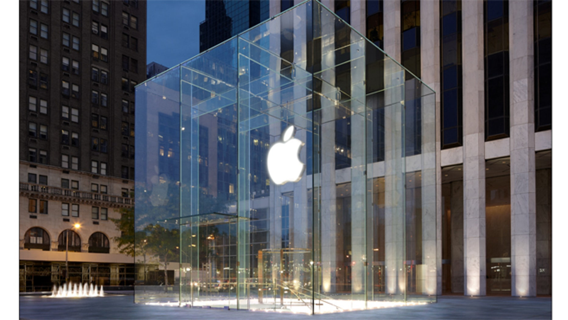 The Apple Store on 5th avenue in New York City.