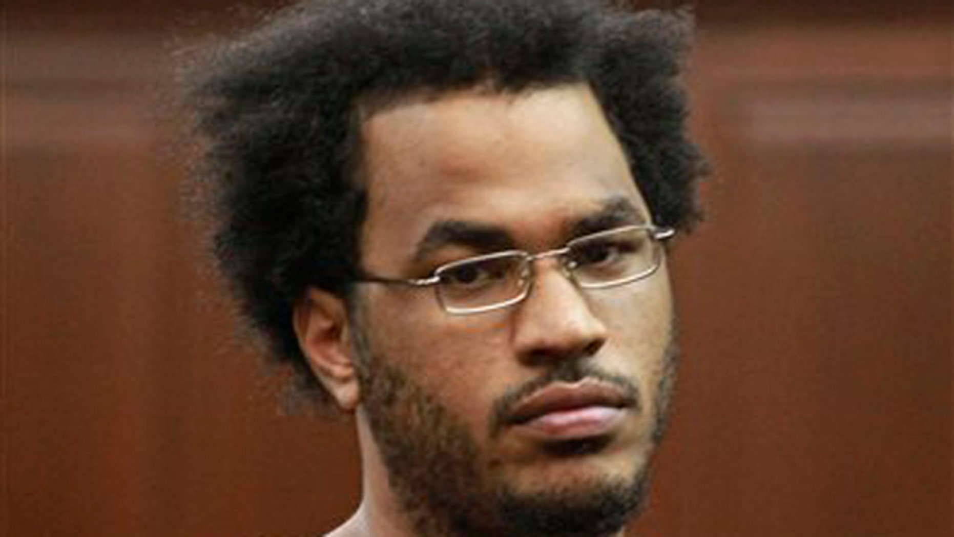 Nov. 20, 2011: In this file photo, Jose Pimentel is shown in Manhattan criminal court in New York.