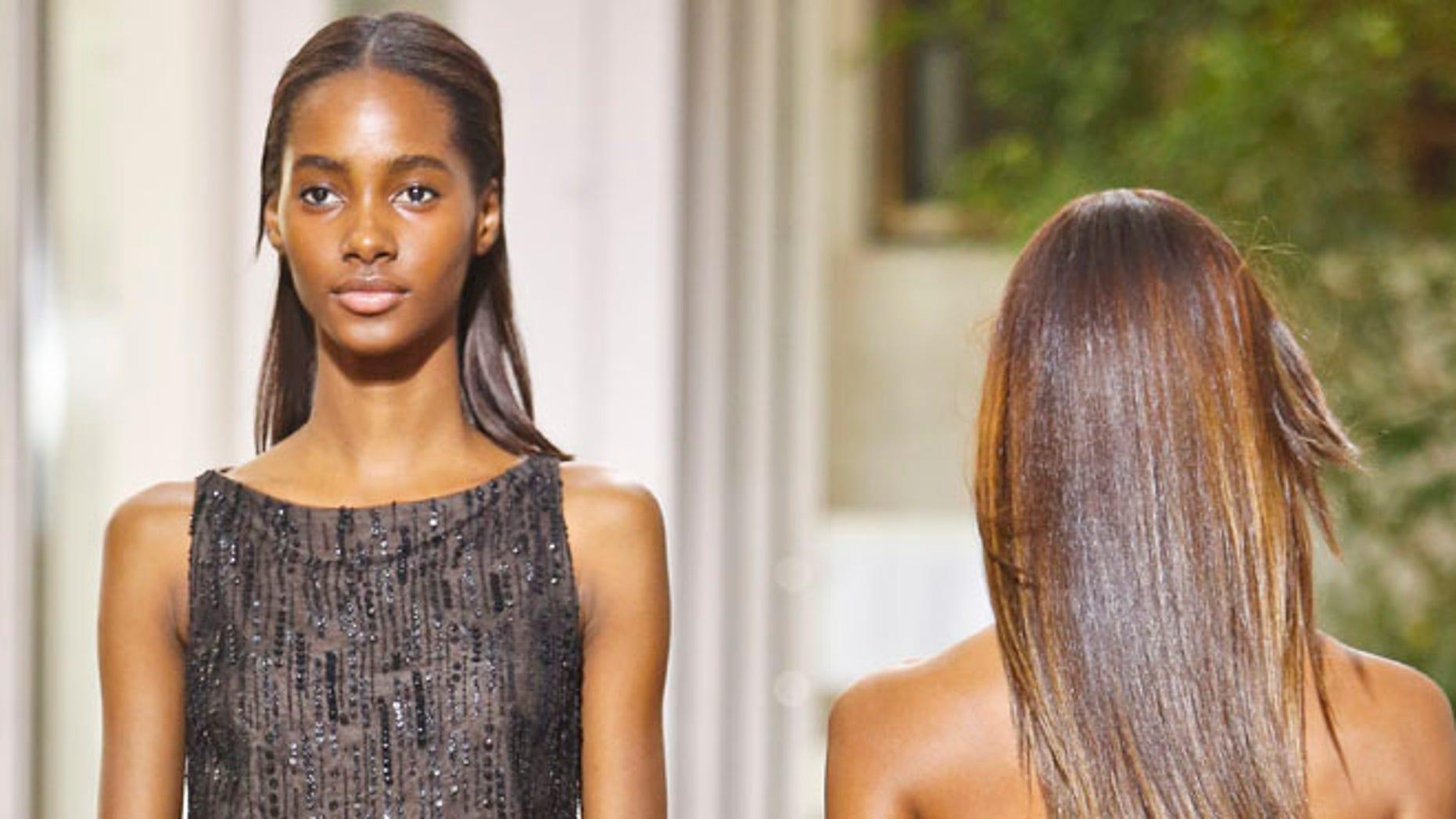Fashion from the Oscar de la Renta Spring 2017 at NY Fashion Show on Monday Sept. 12, 2016.