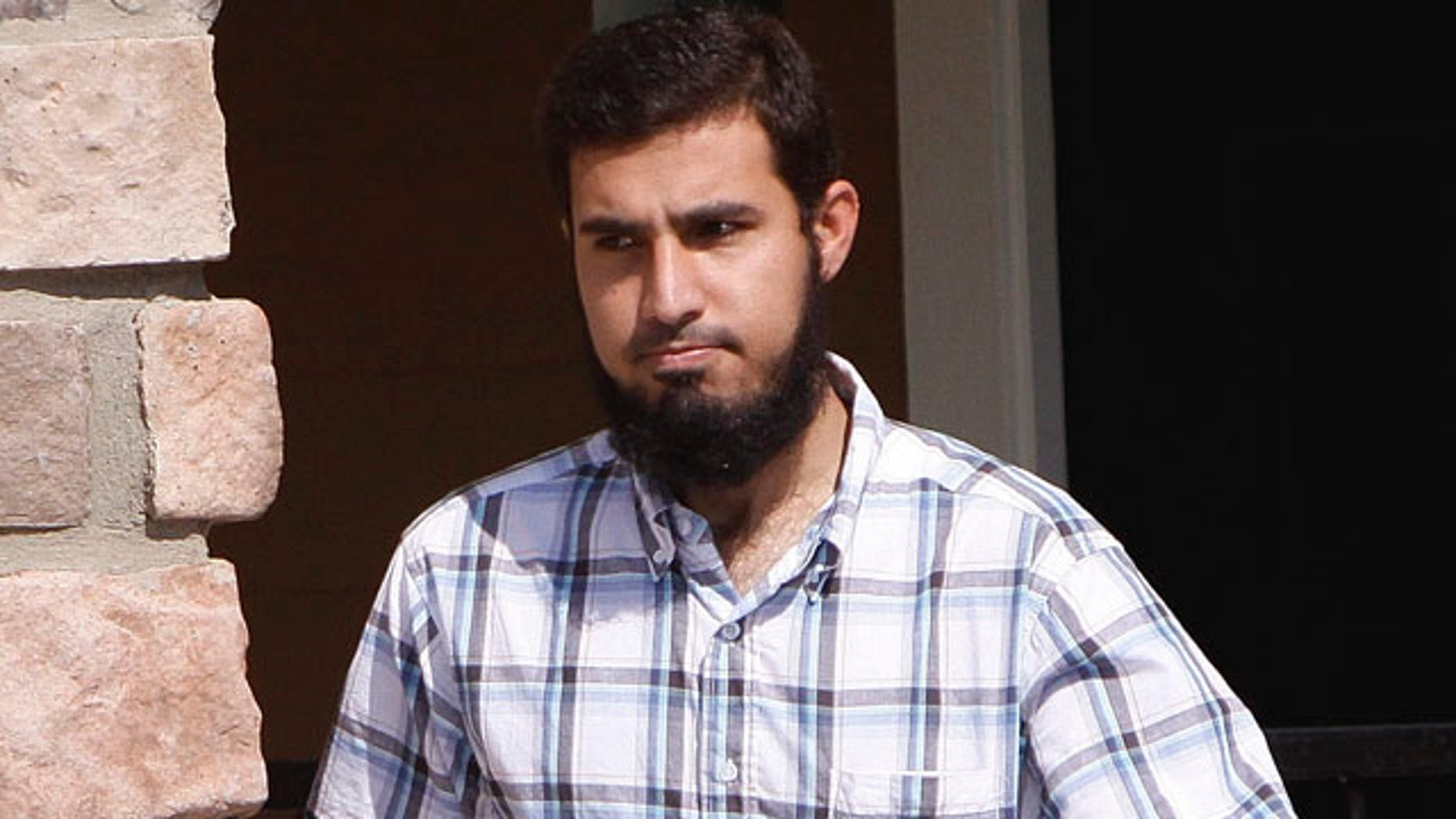 Sept. 17, 2009: Najibullah Zazi leaves his apartment in Aurora, Colo., for a meeting with his attorney. When New York undercover officers and informants were infiltrating a mosque in Queens in 2006, they failed to notice the increasingly radical sentiments of a young man who prayed there. Police also kept tabs on a Muslim student group at Queens College, but missed a members growing anti-Americanism. Those two men and friends -- Zazi at the mosque and Adis Medunjanin at the school -- would go on to be accused of plotting a subway bombing that officials have called the most serious terrorist threat to the United States since Sept. 11, 2001.