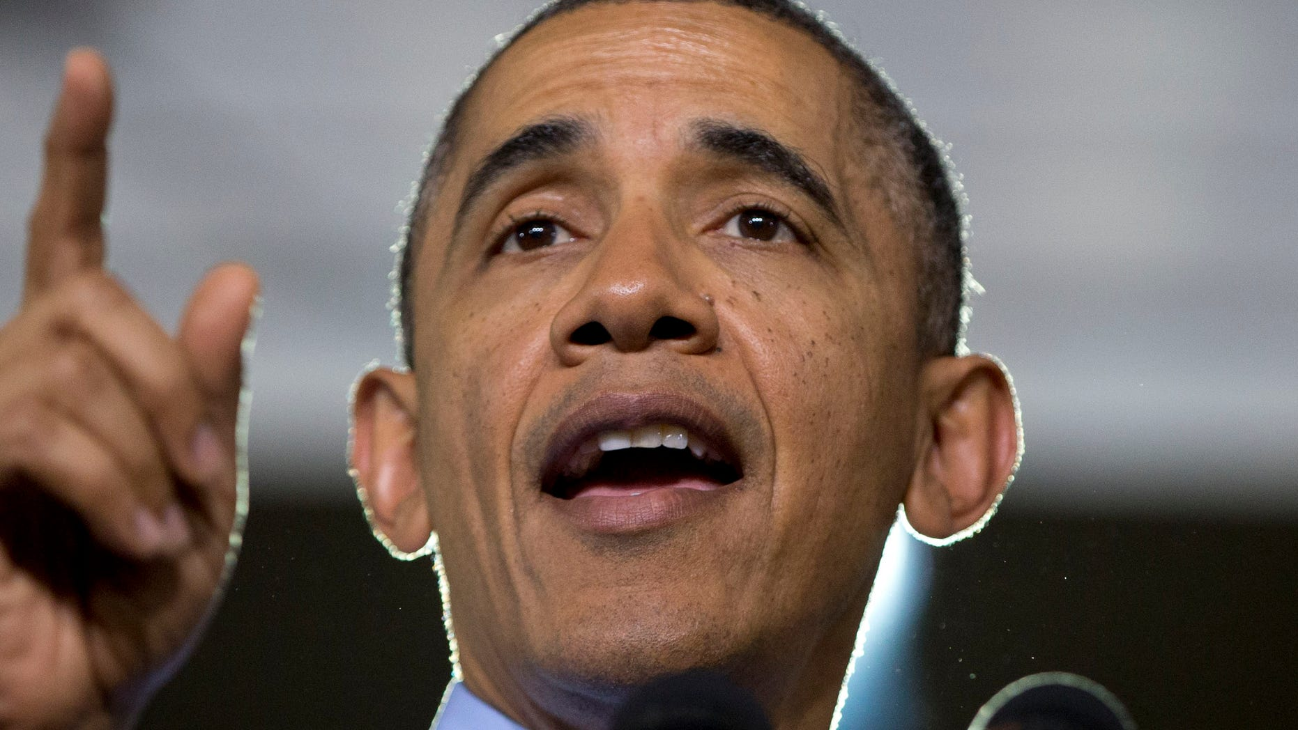 Aug. 16, 2014: President Obama speaks at Community College of Allegheny County West Hills Center.