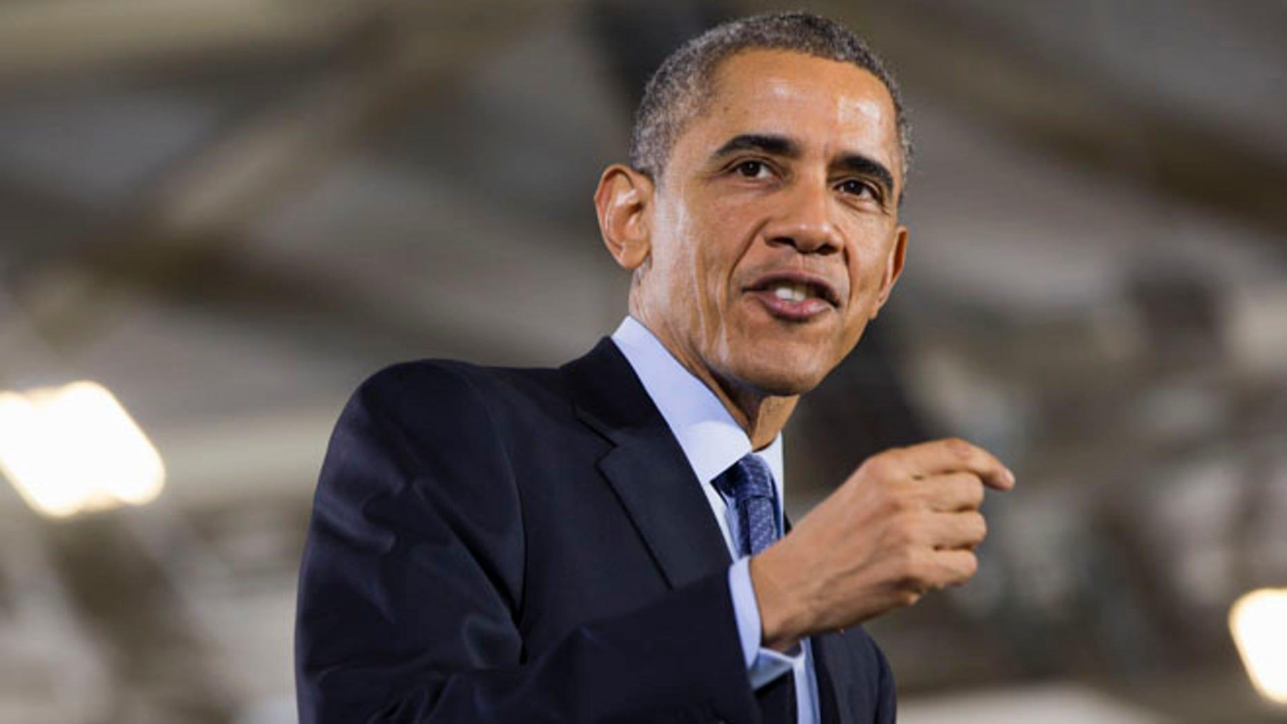 Dec. 15, 2014: Obama speaks to troops at Joint Base McGuire-Dix-Lakehurst, N.J.