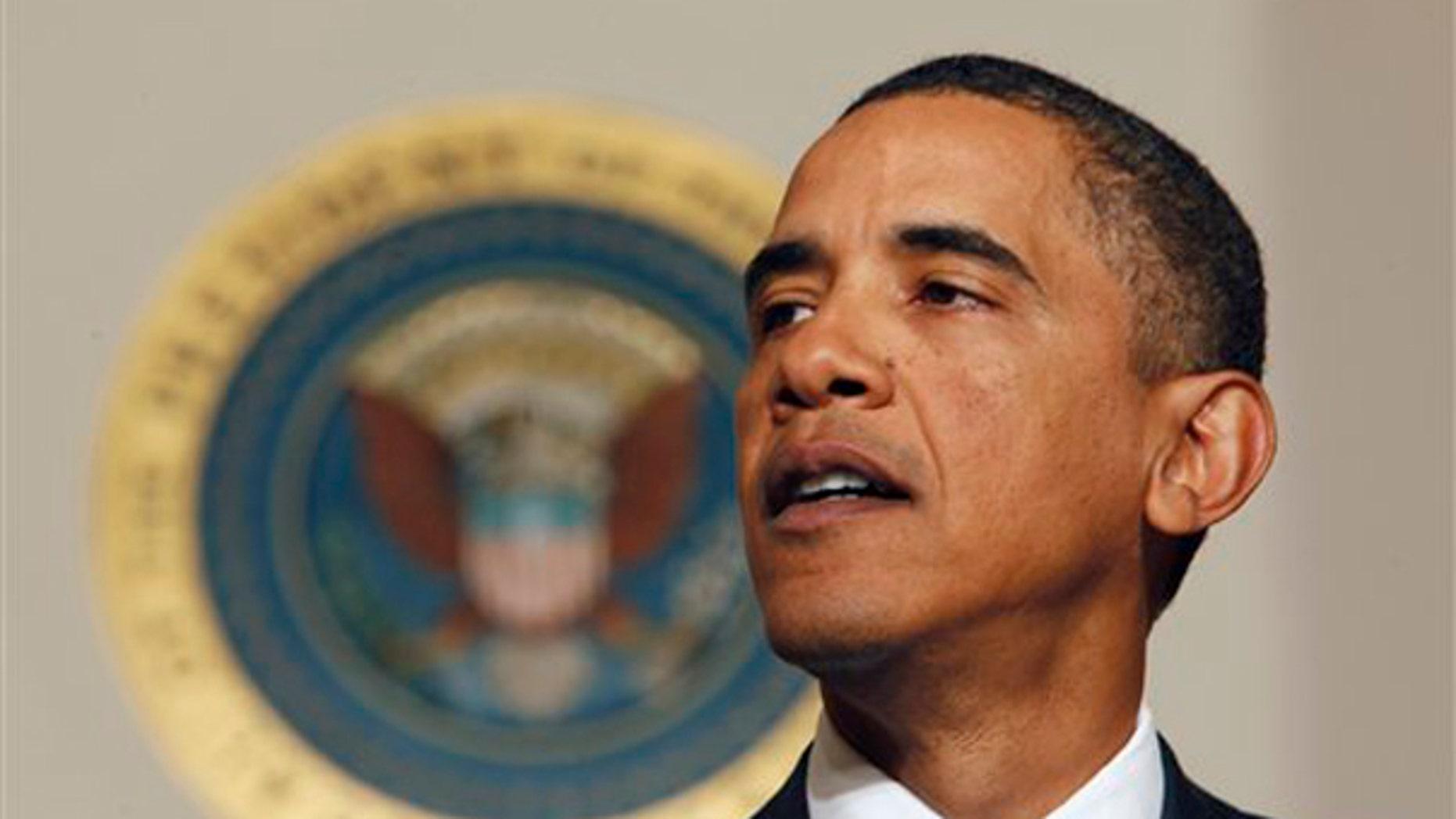 President Obama speaks about U.S. intelligence efforts at the White House Jan. 5. (AP Photo)