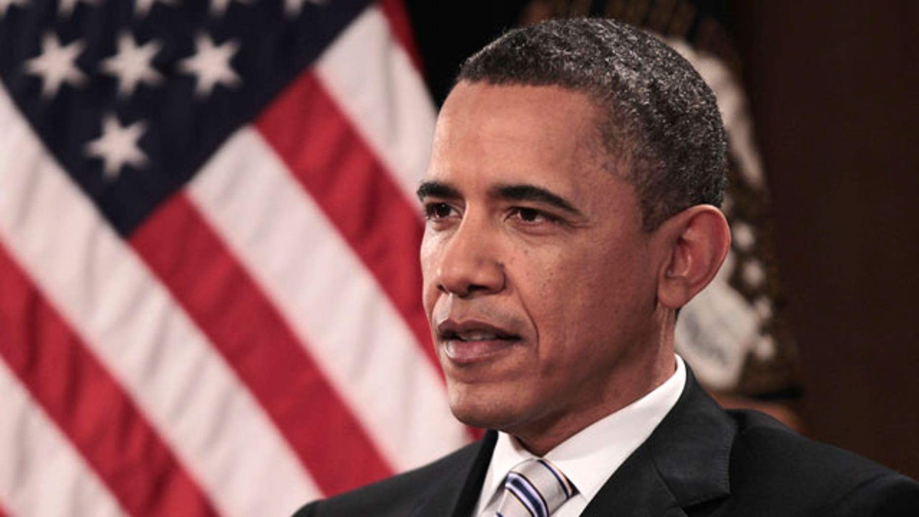 President Barack Obama is interviewed by The Associated Press, Friday, April 15, 2011, in Chicago.(AP)