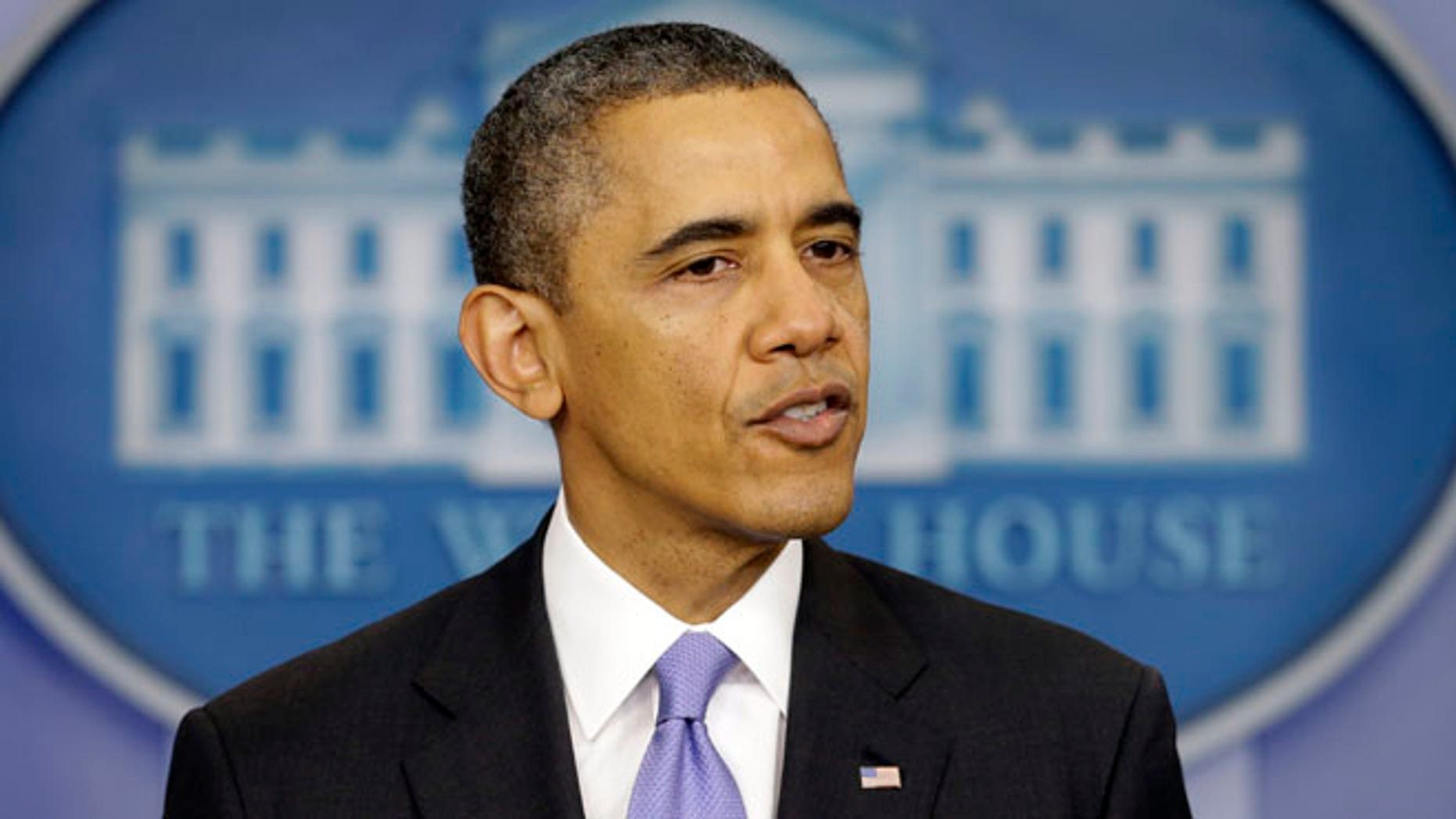 Dec. 20, 2013: President Obama speaks during an end-of-year news conference at the White House.