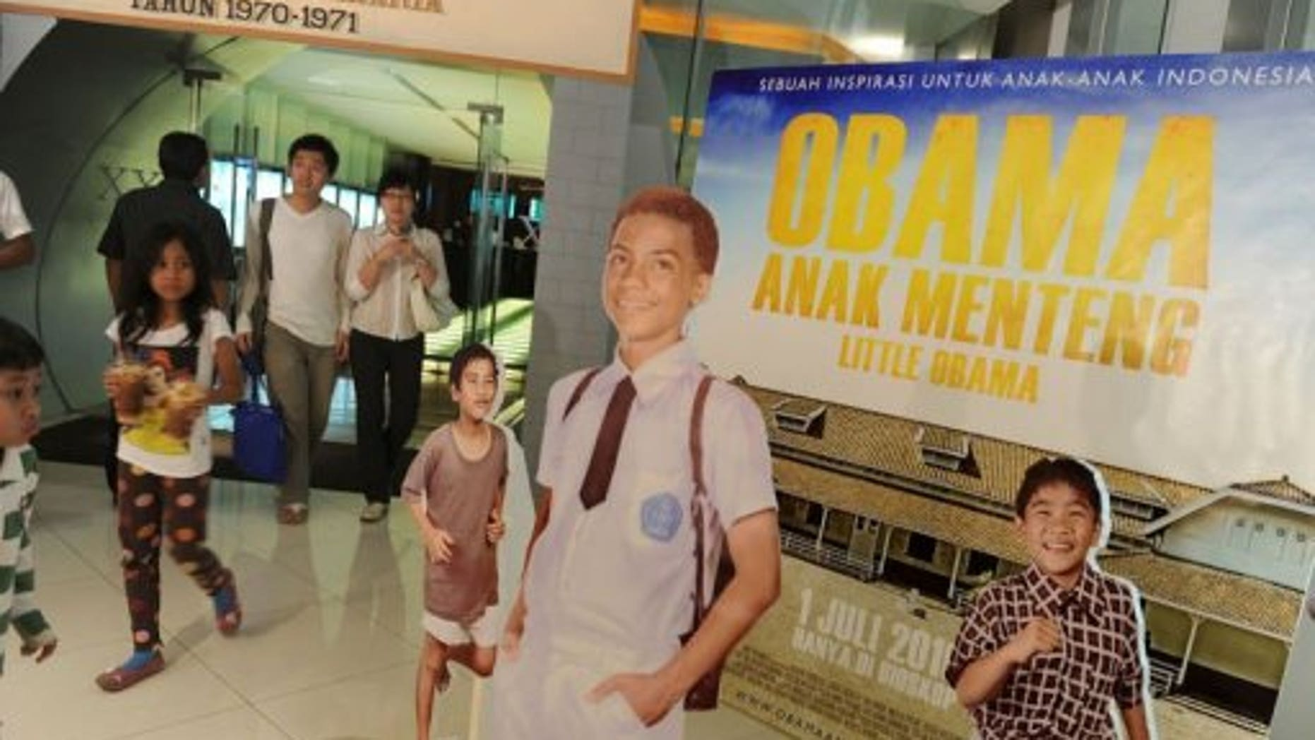 Obama lived in Jakarta from 1967 to 1971 with his mother and Indonesian stepfather. (AFP)