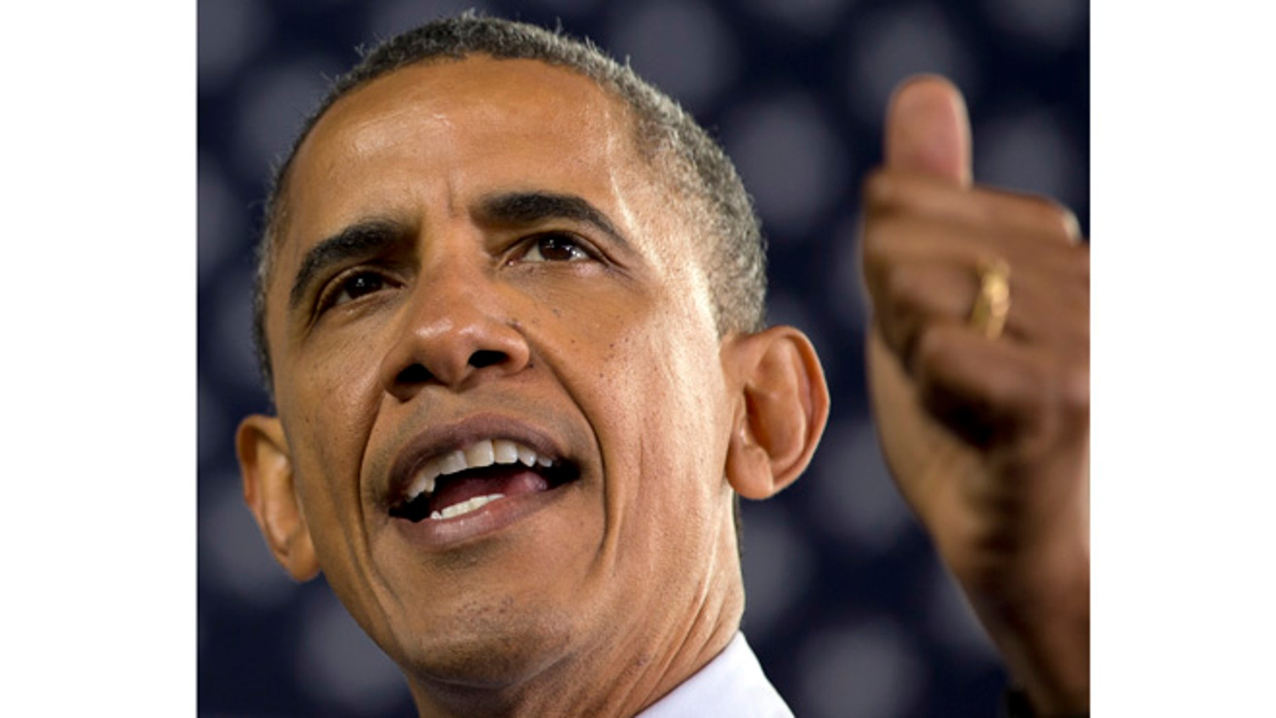 FILE - In this Sept. 22, 2012 file photo, President Barack Obama speaks in Milwaukee. Never have American voters re-elected a president whose work they disapprove of as much as Barack Obama. Not that Mitt Romney can take much comfort _ they've never elected a challenger with such high disapproval ratings, either.  (AP Photo/Carolyn Kaster, File)