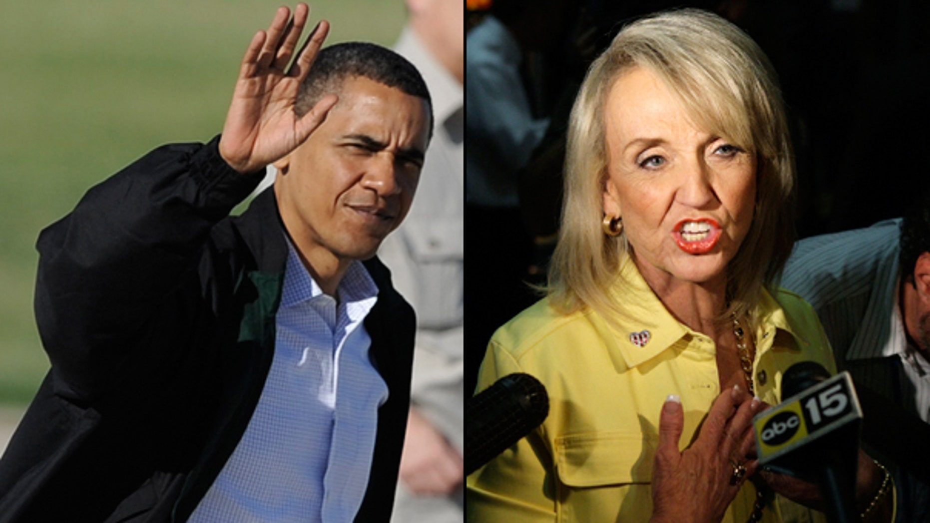 A federal judge on Wednesday blocked the most controversial parts of Arizona's immigration law from taking effect, delivering a last-minute victory to President Obama and other opponents of the crackdown and a setback for Gov. Jan Brewer other supporters. (AP)
