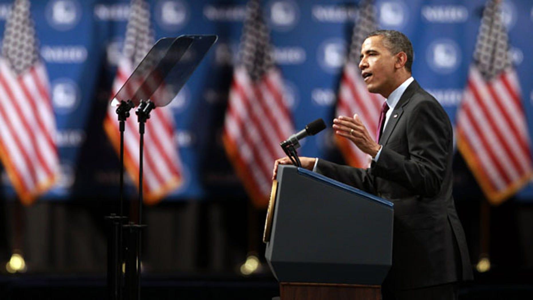 June 22, 2012: President Obama speaks at the NALEO conference in Lake Buena Vista, Fla.