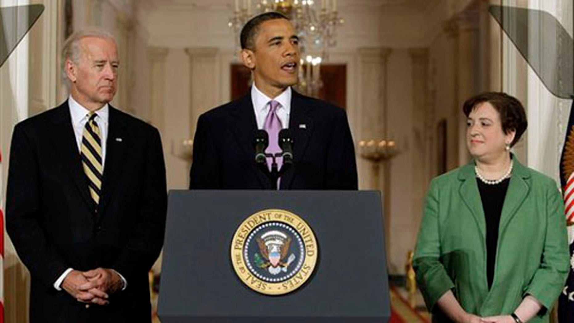 President Obama introduces Elena Kagan as his choice for Supreme Court Justice.