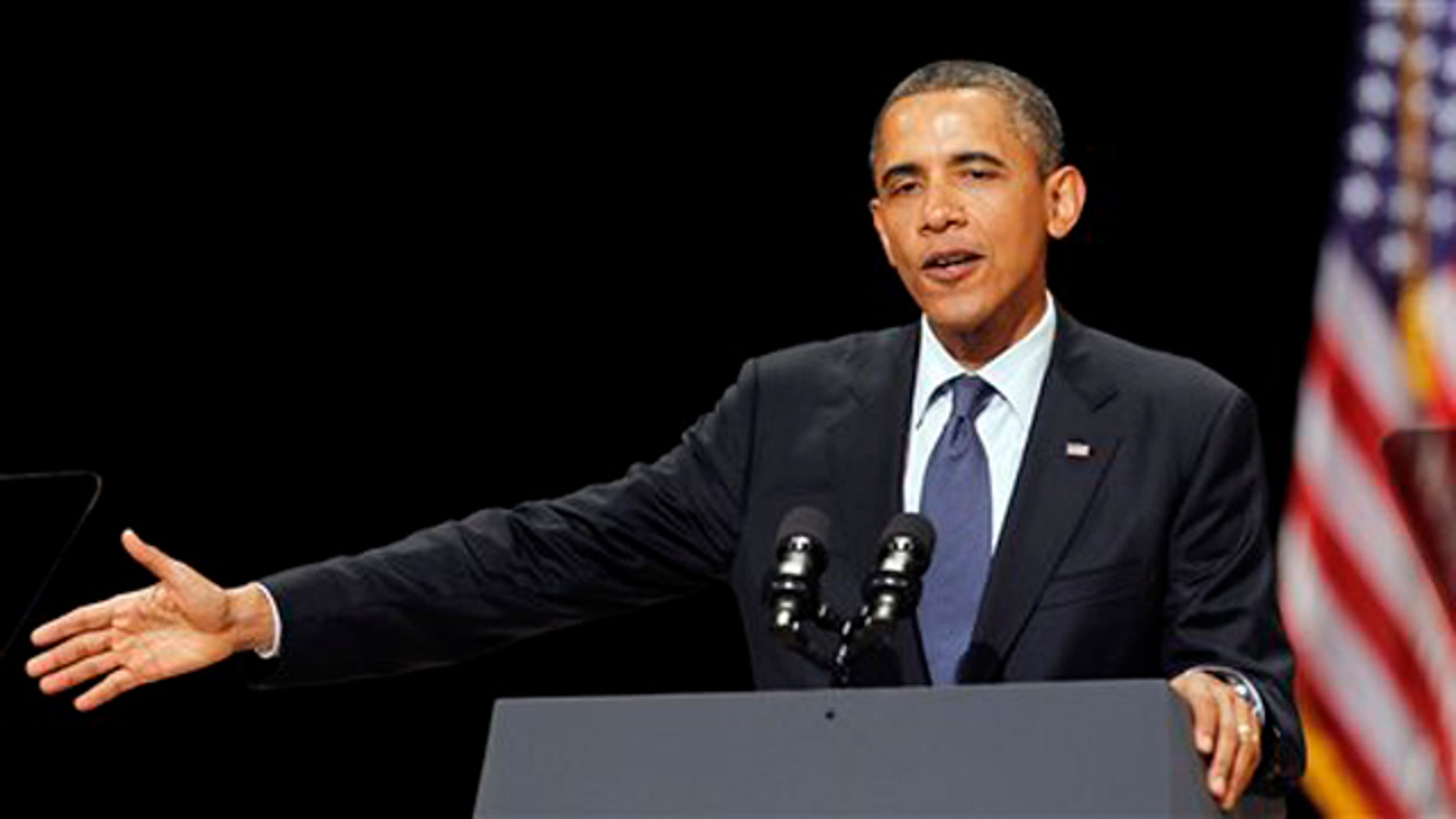 President Obama speaks to a group of supporters at a Miami fundraiser June 13.