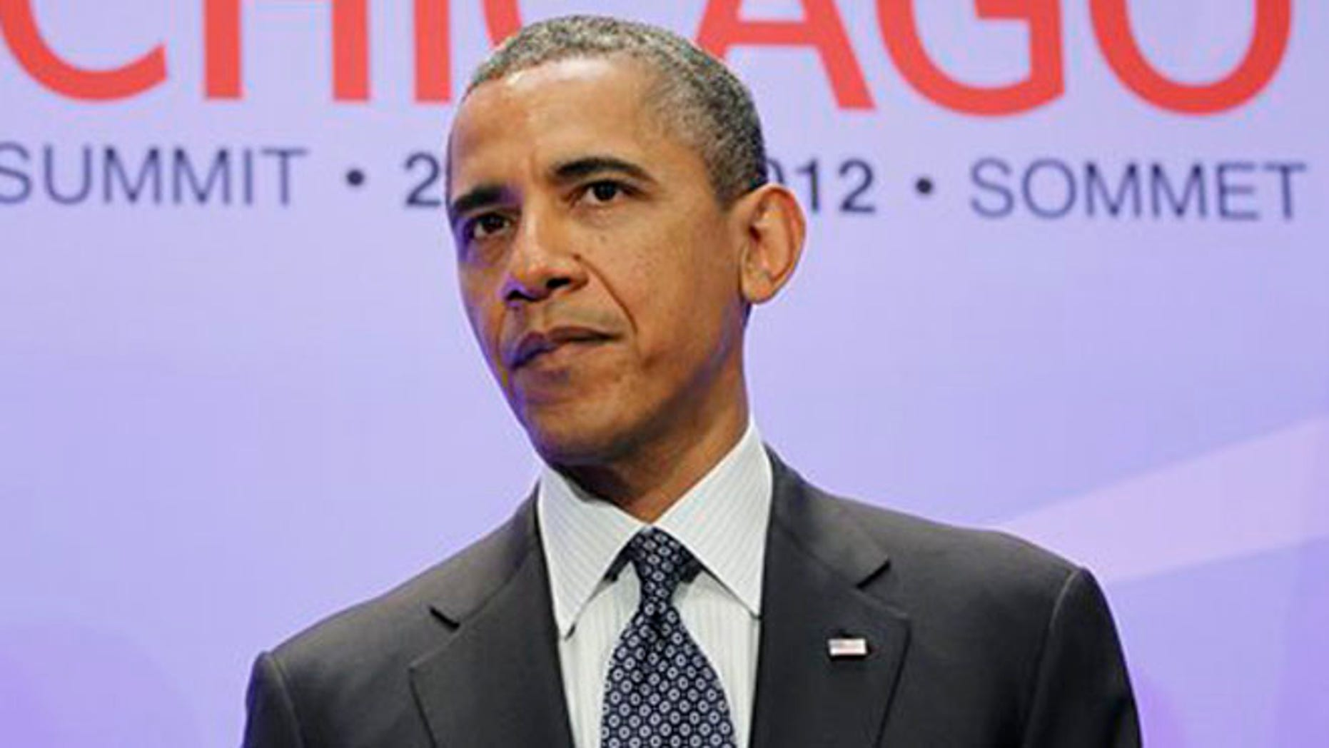 May 20, 2012: President Obama listens during a meeting on the sidelines of the NATO Summit in Chicago.