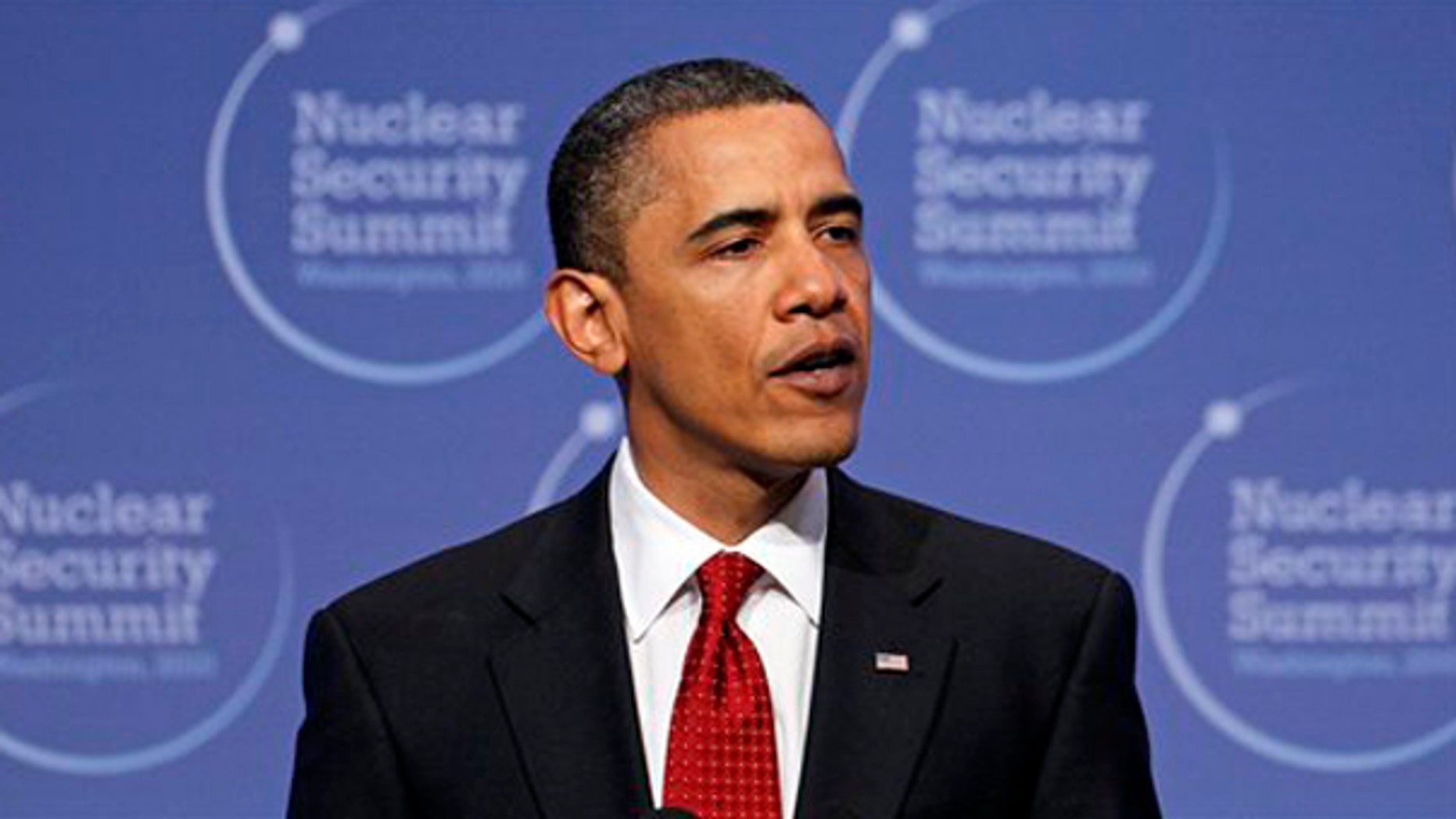 President Obama speaks at the conclusion of the Nuclear Security Summit in Washington April 13. (AP Photo)