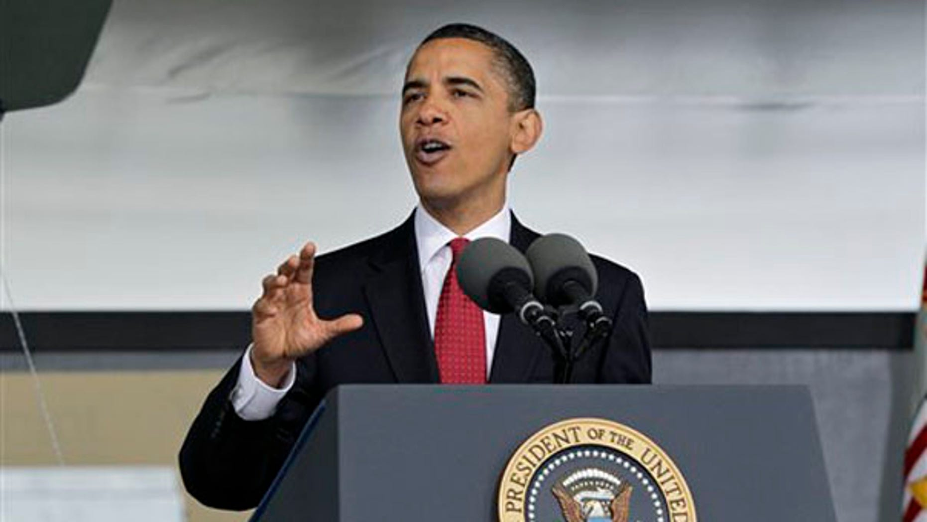 President Obama addresses the graduates of the U.S. Military Academy in West Point, N.Y., May 22. (AP Photo)
