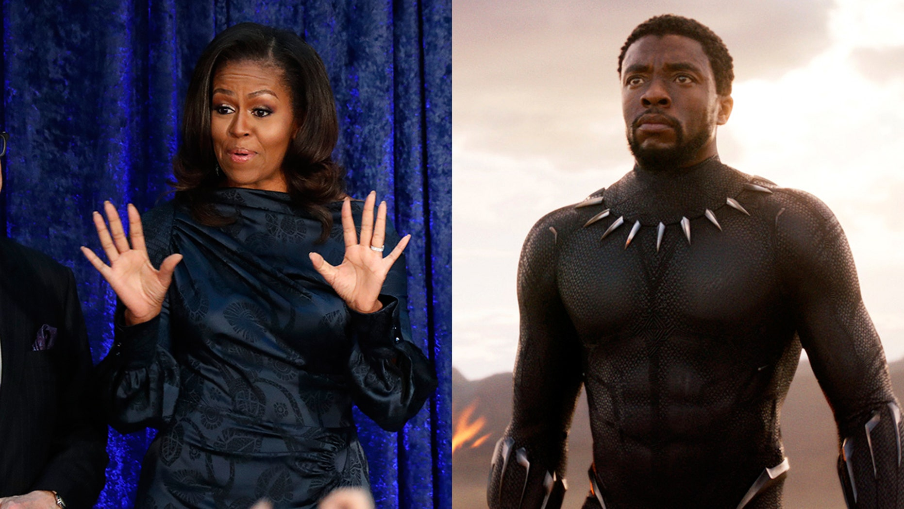 """Michelle Obama tweeted her review for Marvel's """"Black Panther."""""""