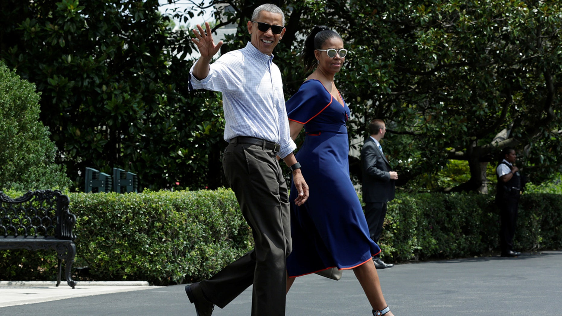 The Obamas may be settling down in Martha's Vineyard.