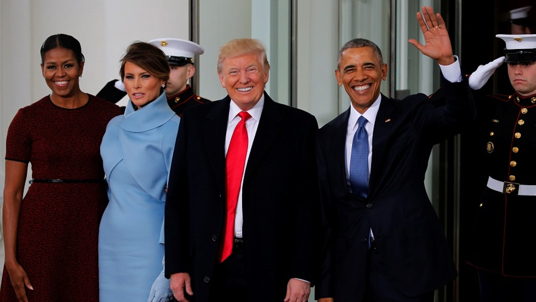 Michelle Obama revealed what Melania Trump gave to her as a parting gift on Inauguration Day.