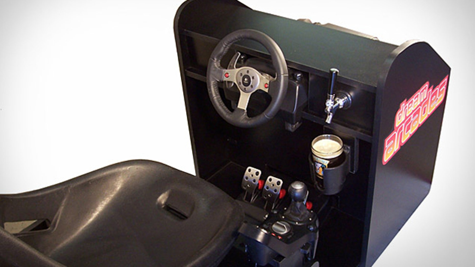 The Octane 120 Pro is the ultimate in home arcade gaming, and combines three things every gamer wants: classic arcade games, arcade-style racing, and a beer tap to get your favorite beverage without having to get out of the seat.