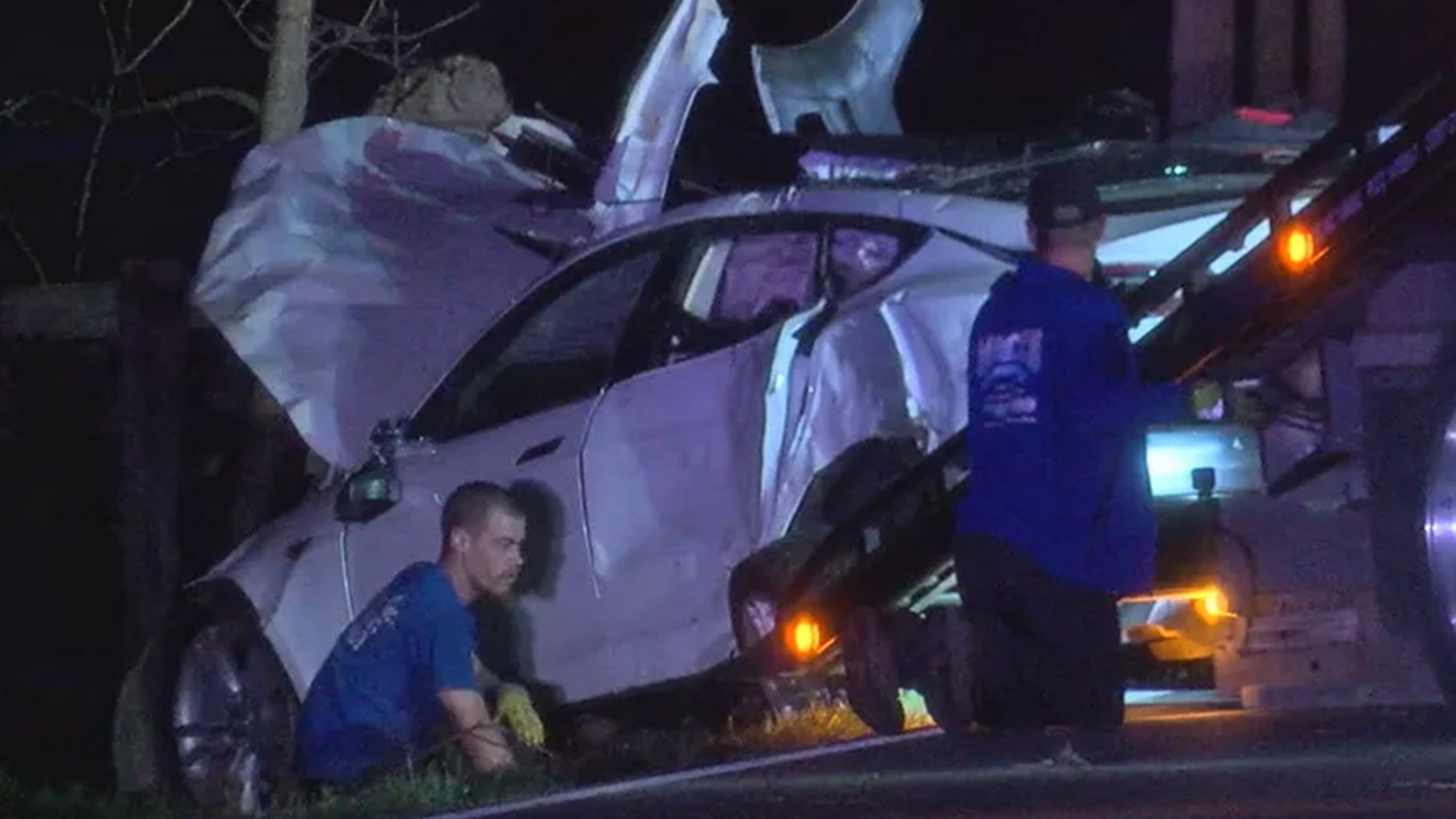A vehicle carrying four teenagers on prom night crashed Friday in Monroe, Ohio.