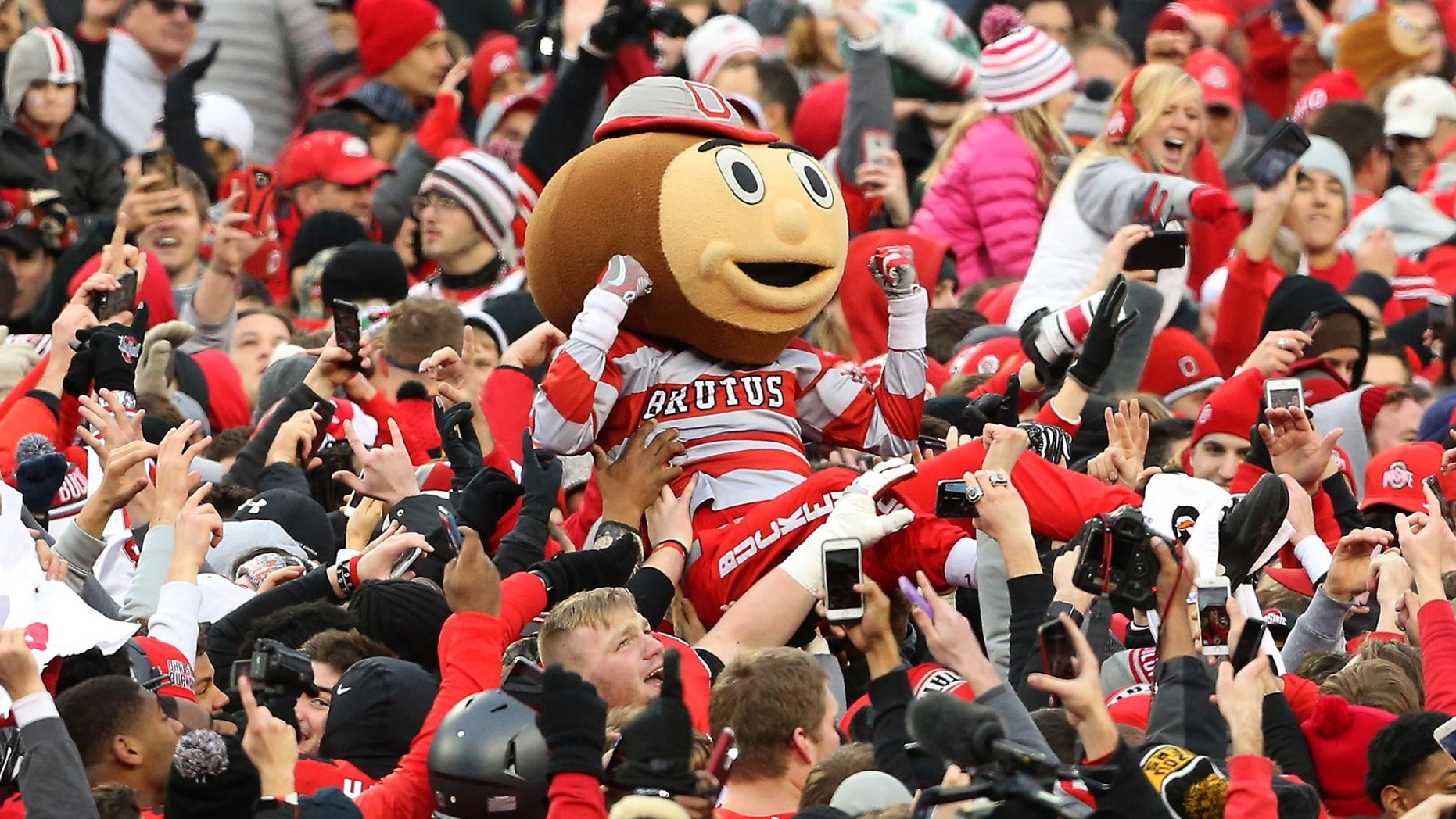 Ohio State fans in November 2016.