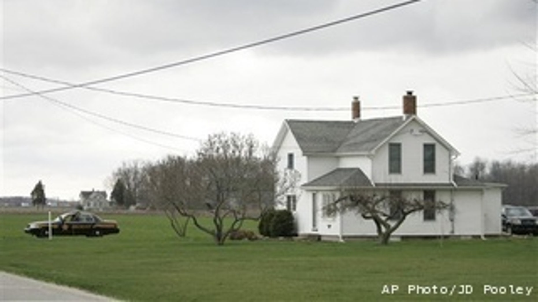 The Ohio home of Alan Atwater, who authorities say killed his three children, wife and himself inside.