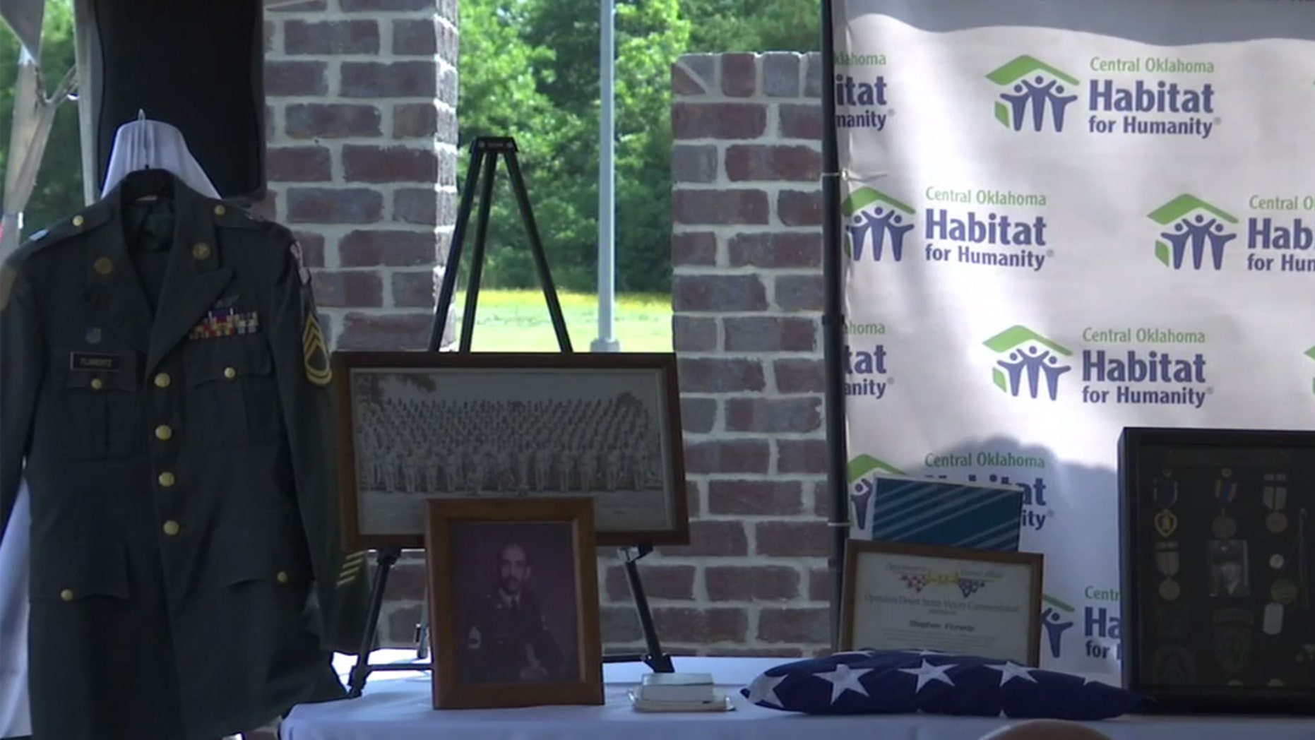An Army veteran who served his country also contributed in a spectacular way to his adopted home state of Oklahoma.