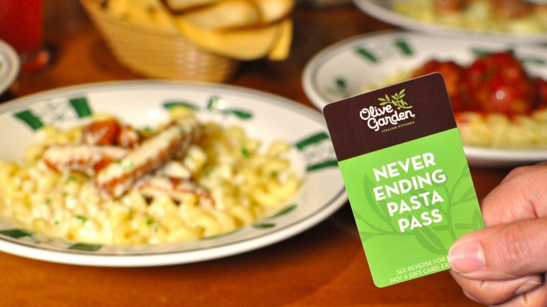For the second year in a row, Olive Garden almost immediately sold passes that gave customers access to never-ending pasta, salad, bread sticks and soda.