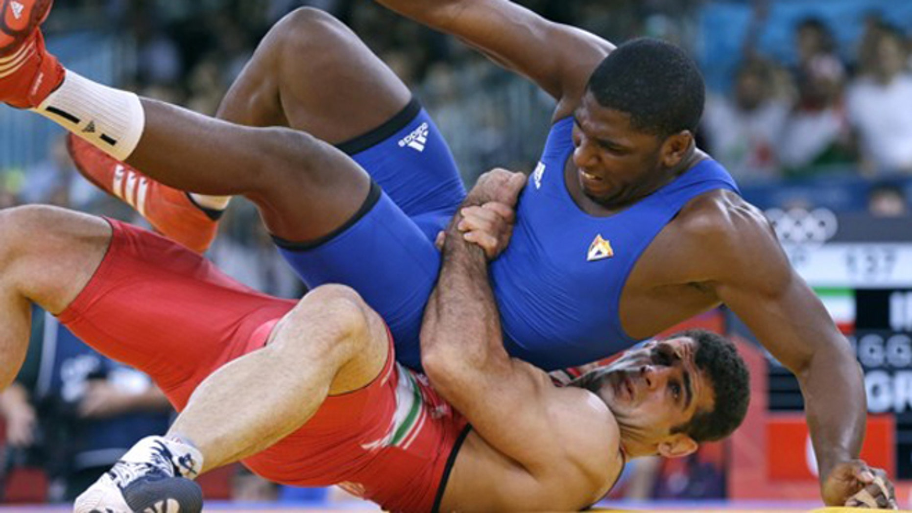 The Olympic committee has called for wrestling -- shown here in the 2012 London games -- to be stripped from the program by 2020.
