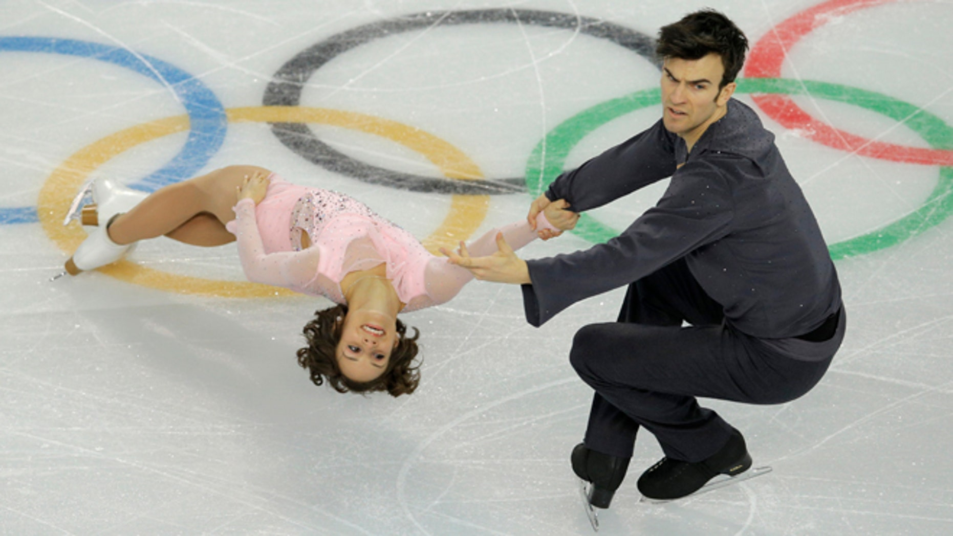 Feb. 6, 2014: Meagan Duhamel and Eric Radford of Canada compete in the team pairs short program figure skating competition at the Iceberg Skating Palace during the 2014 Winter Olympics, in Sochi, Russia.