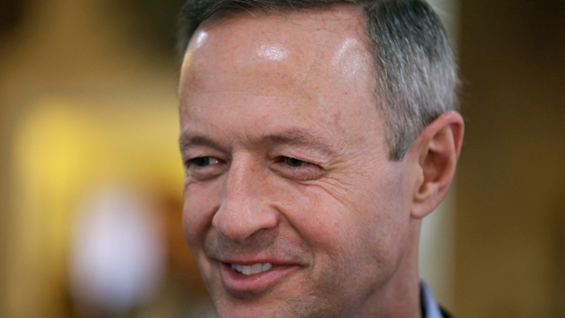 April 9, 2015: Former Maryland Gov. Martin O'Malley speaks to local residents during a fundraiser for Democratic state Rep. Scott Ourth in Indianola, Iowa. (AP)