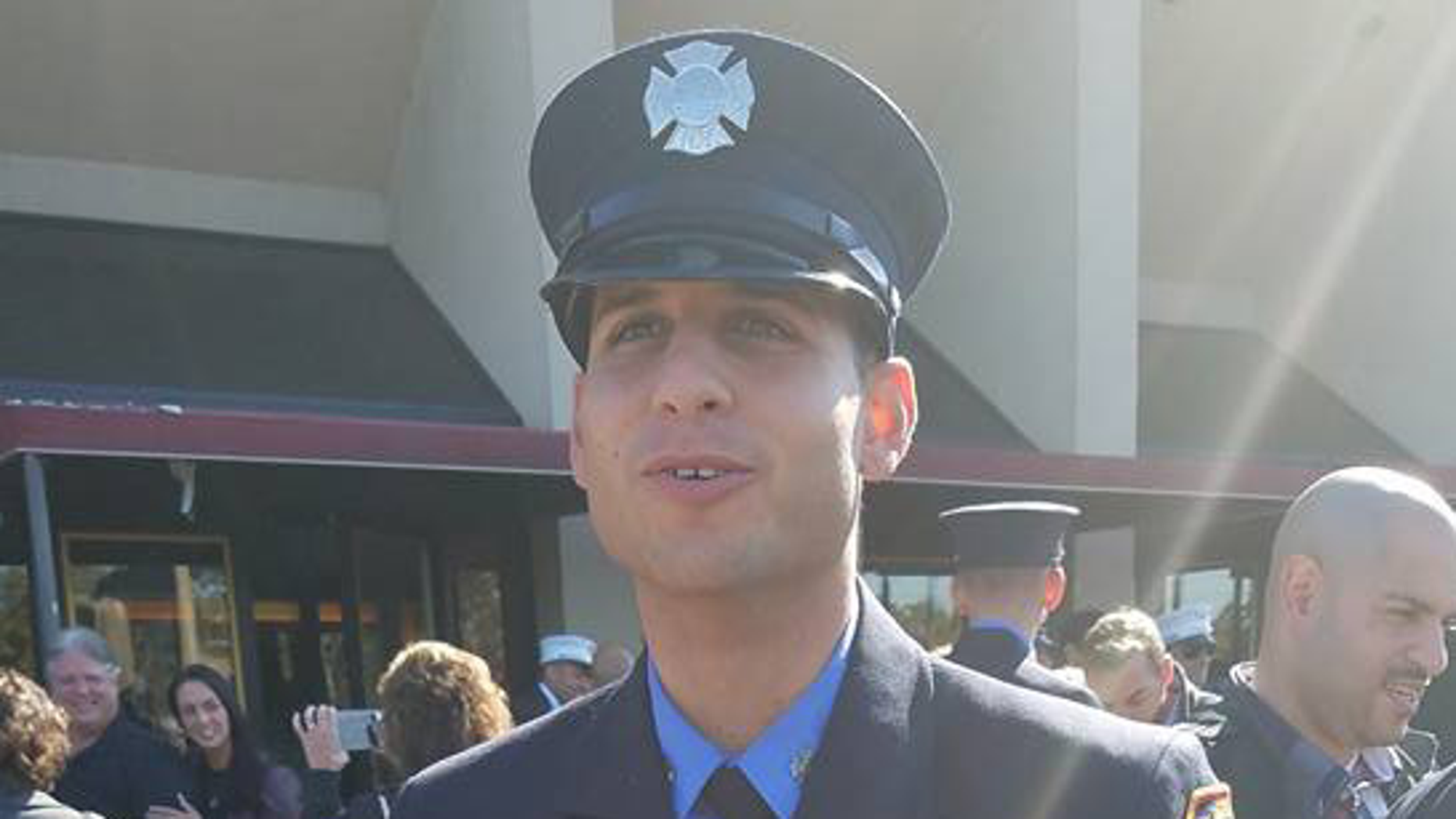 "Rookie firefighter Omar Ahmed Sattar, 30, is the eldest son of Ahmed Abdel Sattar, who was convicted in 2005 of ""soliciting crimes of violence"" and conspiracy to murder Jews."