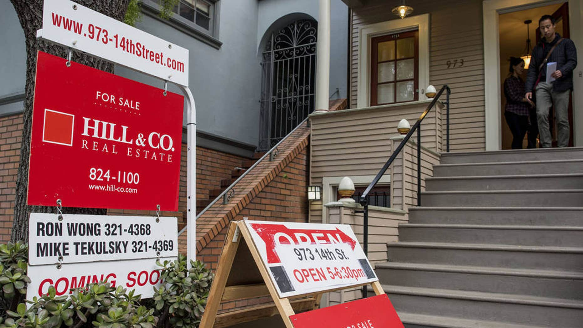 It's important for home shoppers to understand the dynamics of their local market. Here, an open house in San Francisco this month.