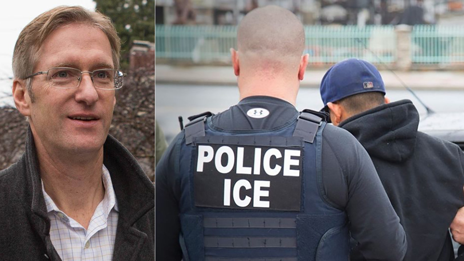 Portland, Ore. Mayor Ted Wheeler was blasted by ICE agents.